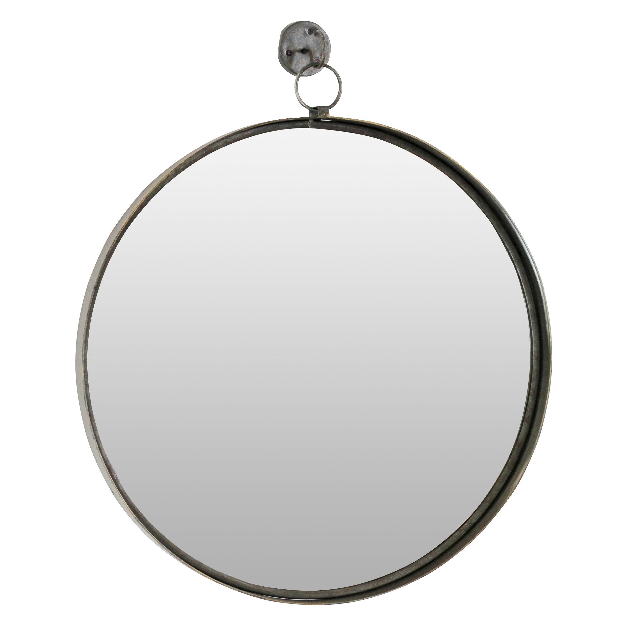 Metal Wall Mirrors You'll Love In 2019 | Wayfair Throughout Koeller Industrial Metal Wall Mirrors (View 11 of 20)