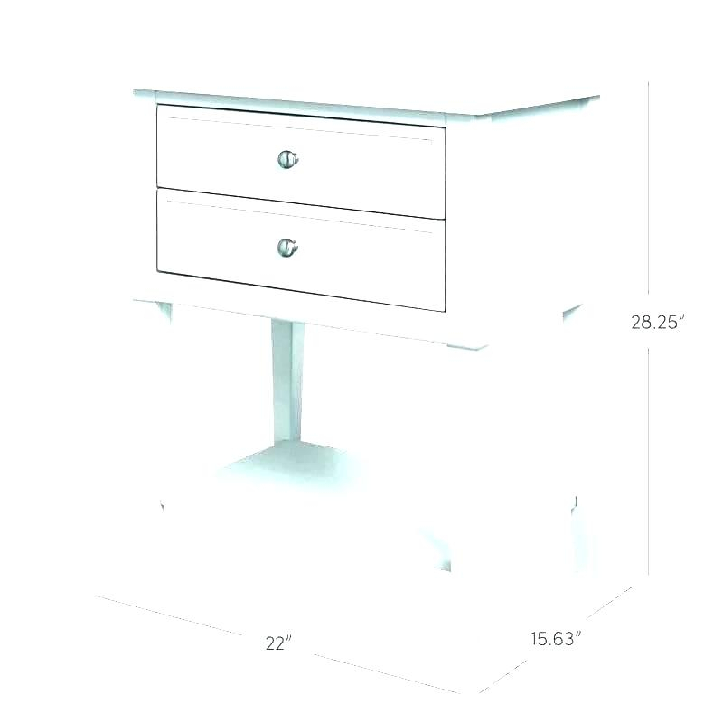 Mid Century Modern White End Table – Pleed (View 14 of 25)