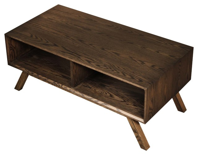 Featured Image of Solid Hardwood Rectangle Mid Century Modern Coffee Tables