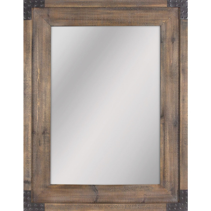Mirrors & Mirror Accessories At Lowes In Traditional Square Glass Wall Mirrors (Image 9 of 20)