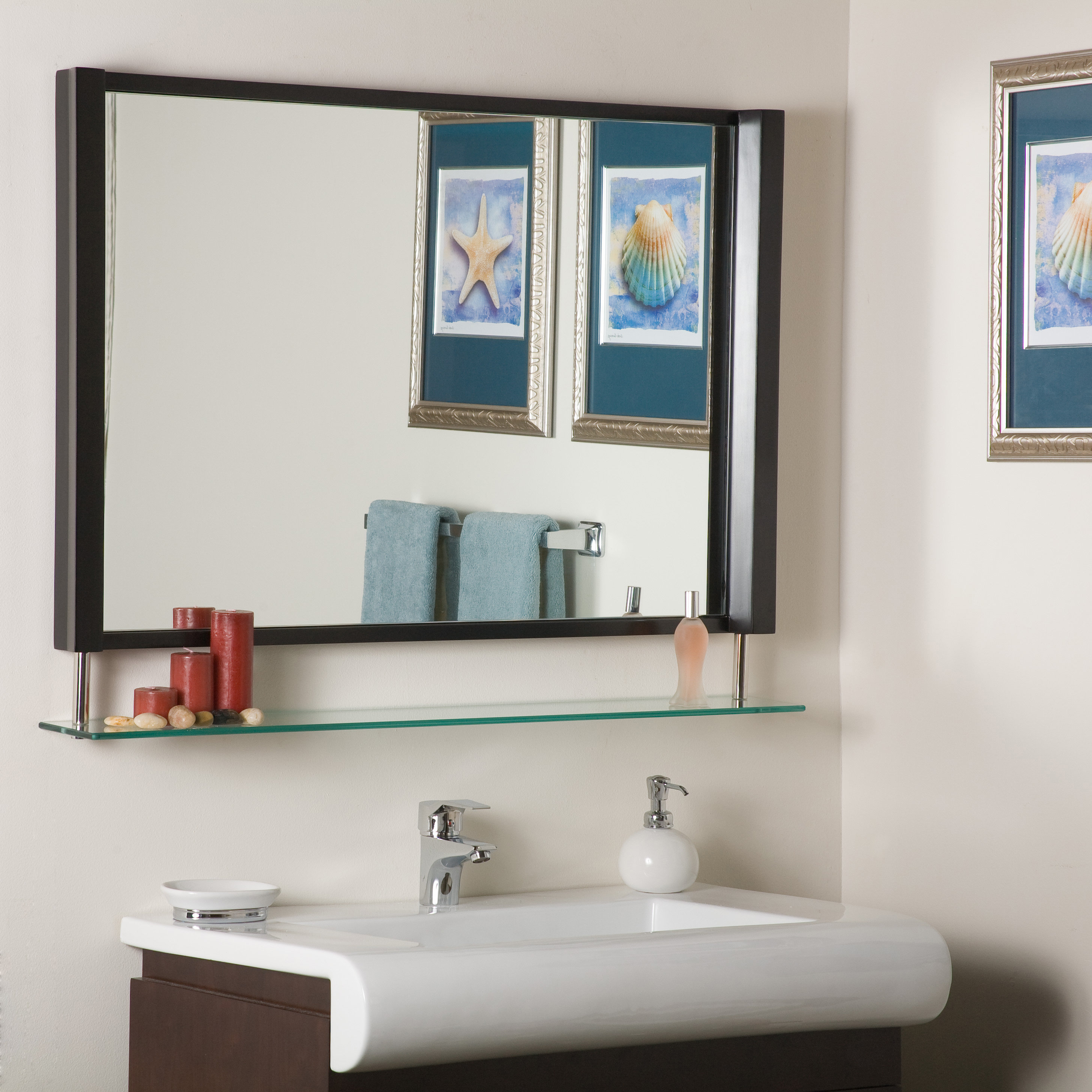 Mirrors With Shelves & Drawers You'll Love In 2019 | Wayfair (Image 14 of 20)