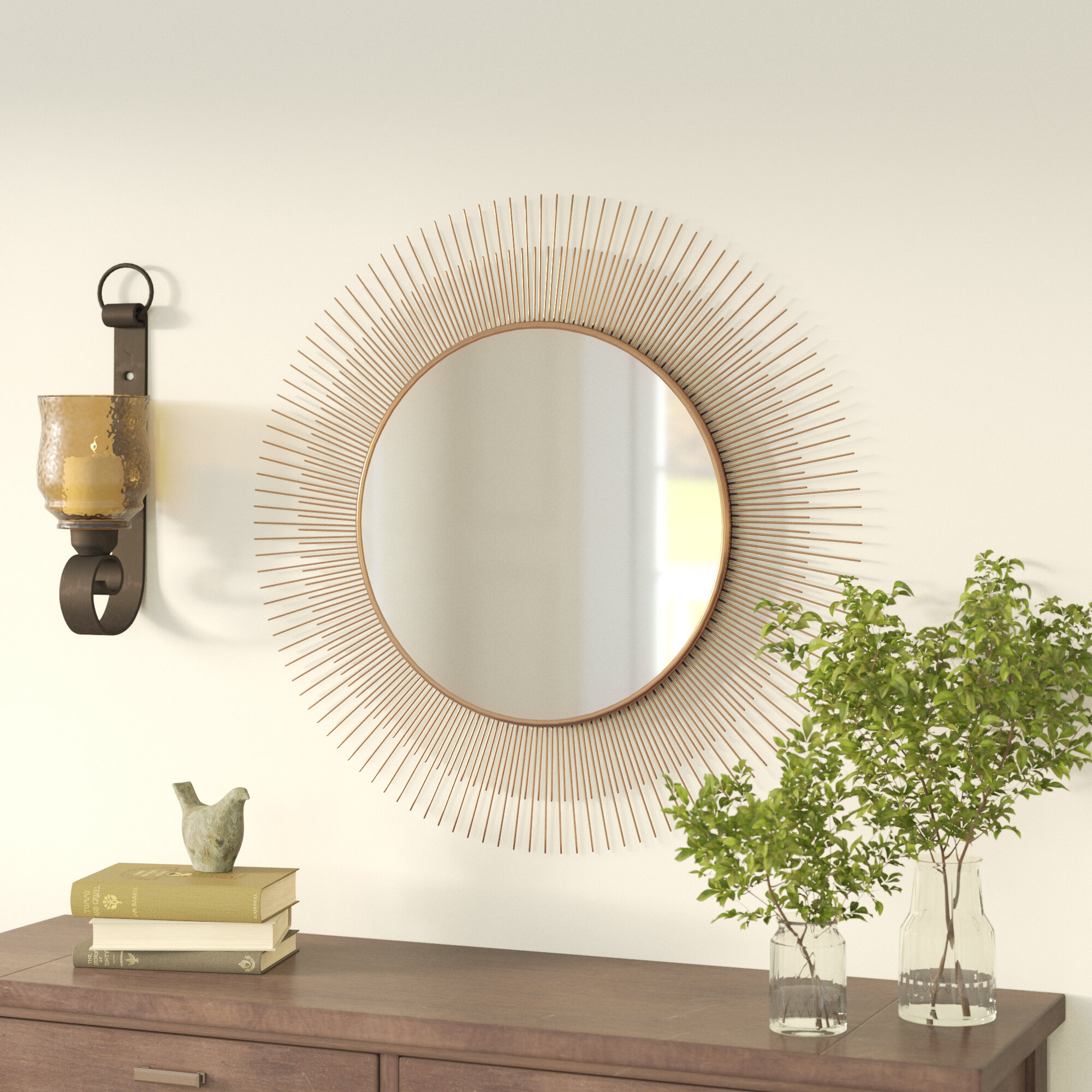 Mirrors With Shelves & Drawers You'll Love In 2019 | Wayfair (Image 16 of 20)