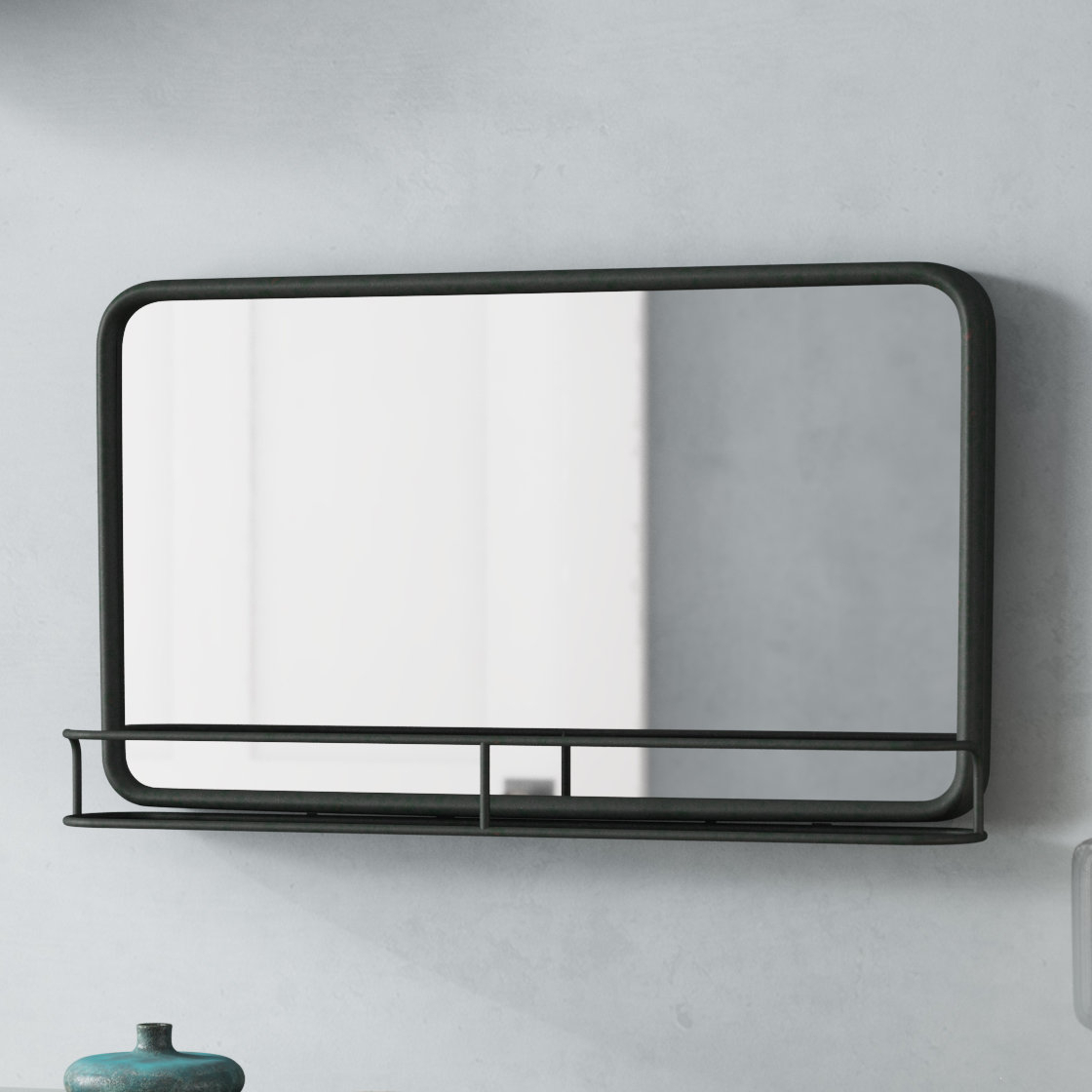 Mirrors With Shelves & Drawers You'll Love In 2019 | Wayfair Intended For Hallas Wall Organizer Mirrors (Image 12 of 20)