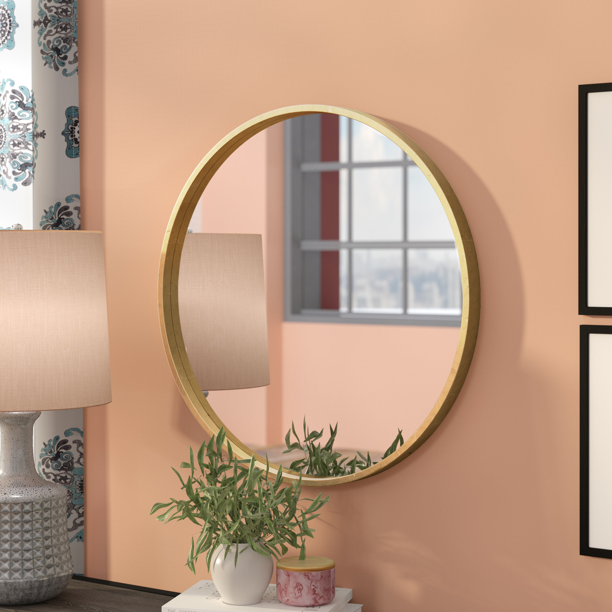 Mistana Tanner Accent Mirror & Reviews | Wayfair (Image 4 of 20)