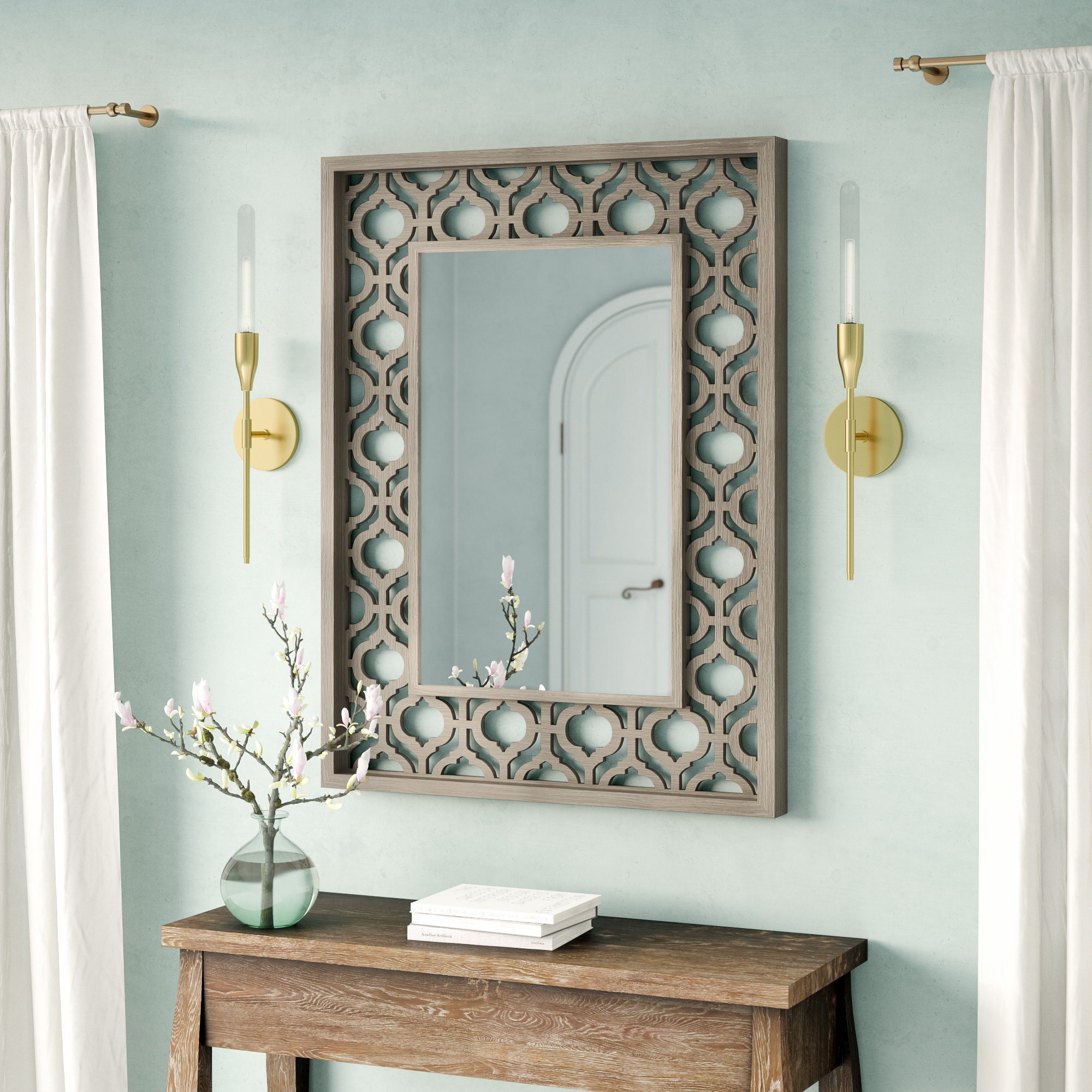 Mistana Ulus Accent Mirror In Ulus Accent Mirrors (View 3 of 20)