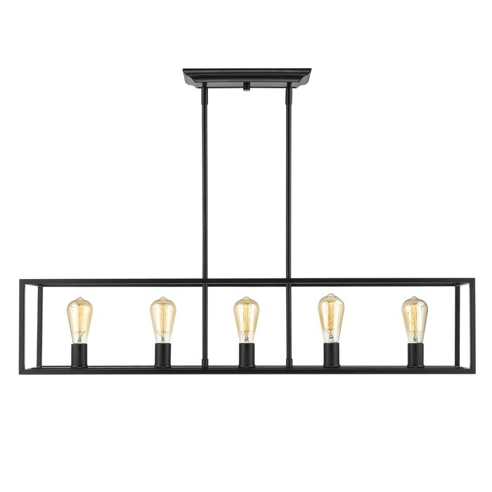 Mizer 5 Light Kitchen Island Linear Pendant With Regard To Bouvet 5 Light Kitchen Island Linear Pendants (View 6 of 25)