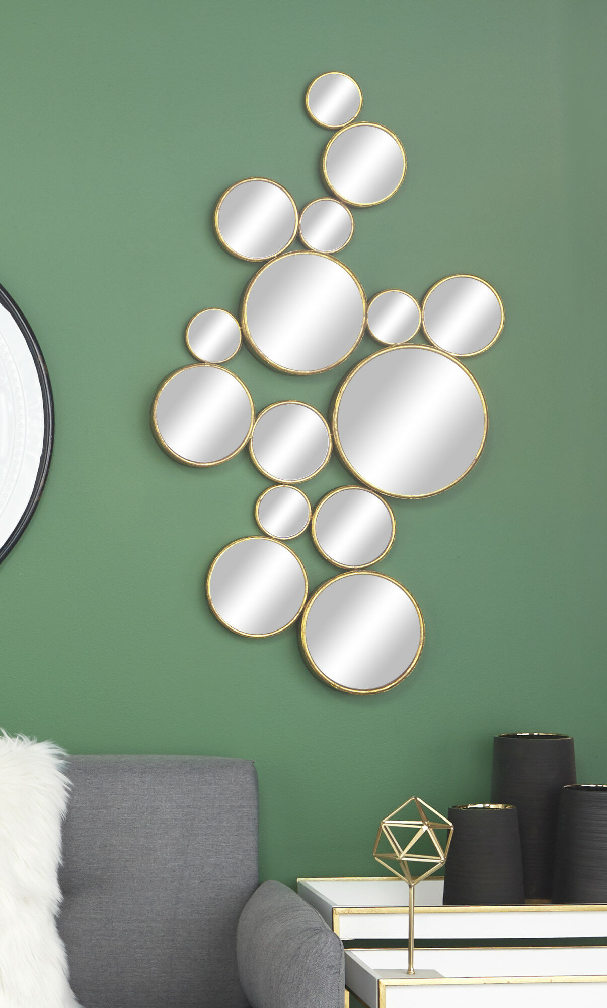 Modern And Contemporary Distressed Accent Mirror Pertaining To Yedinak Modern Distressed Accent Mirrors (View 18 of 20)