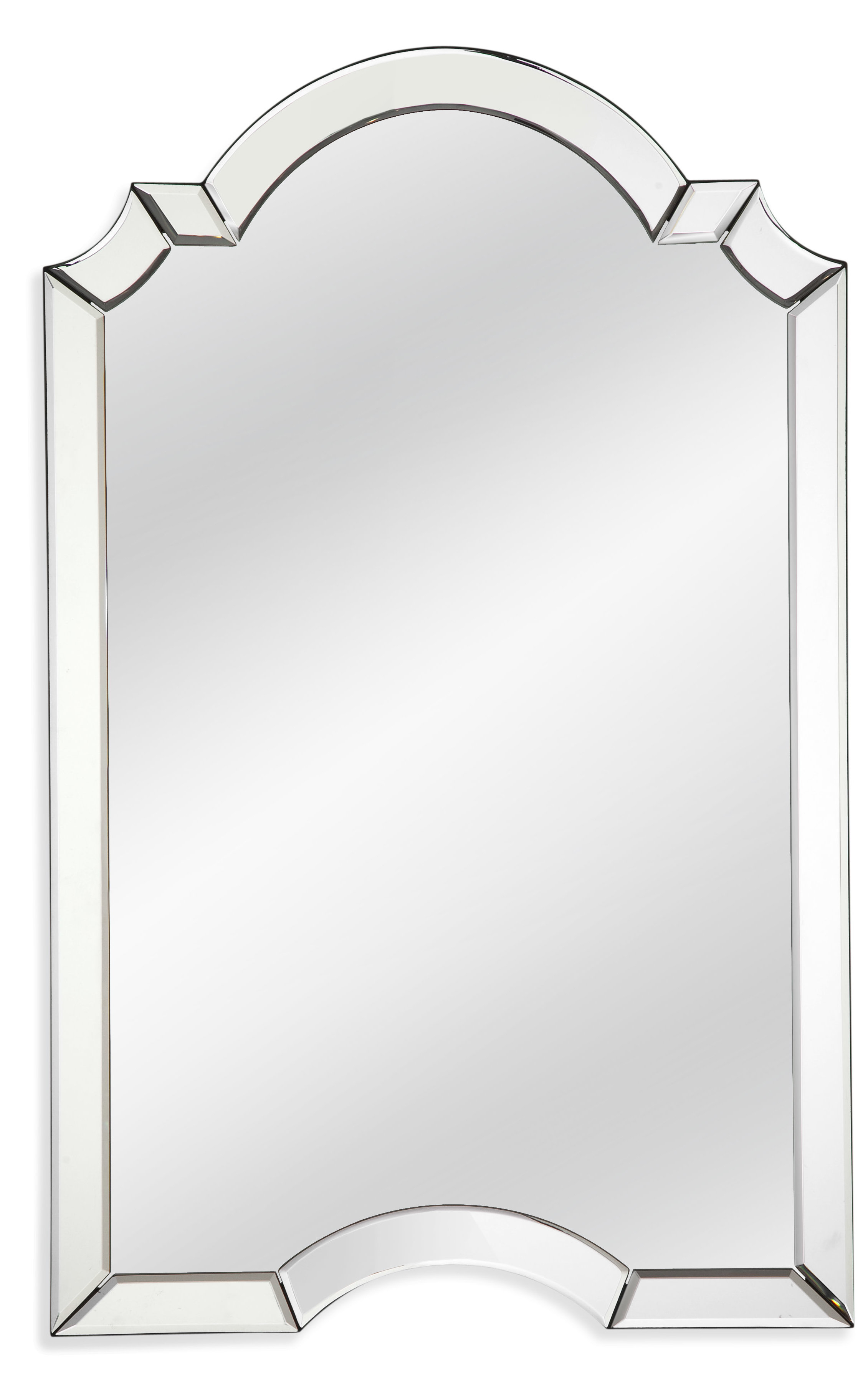 Modern Arch / Crowned Top Wall Mirrors | Allmodern Pertaining To Fifi Contemporary Arch Wall Mirrors (View 10 of 20)