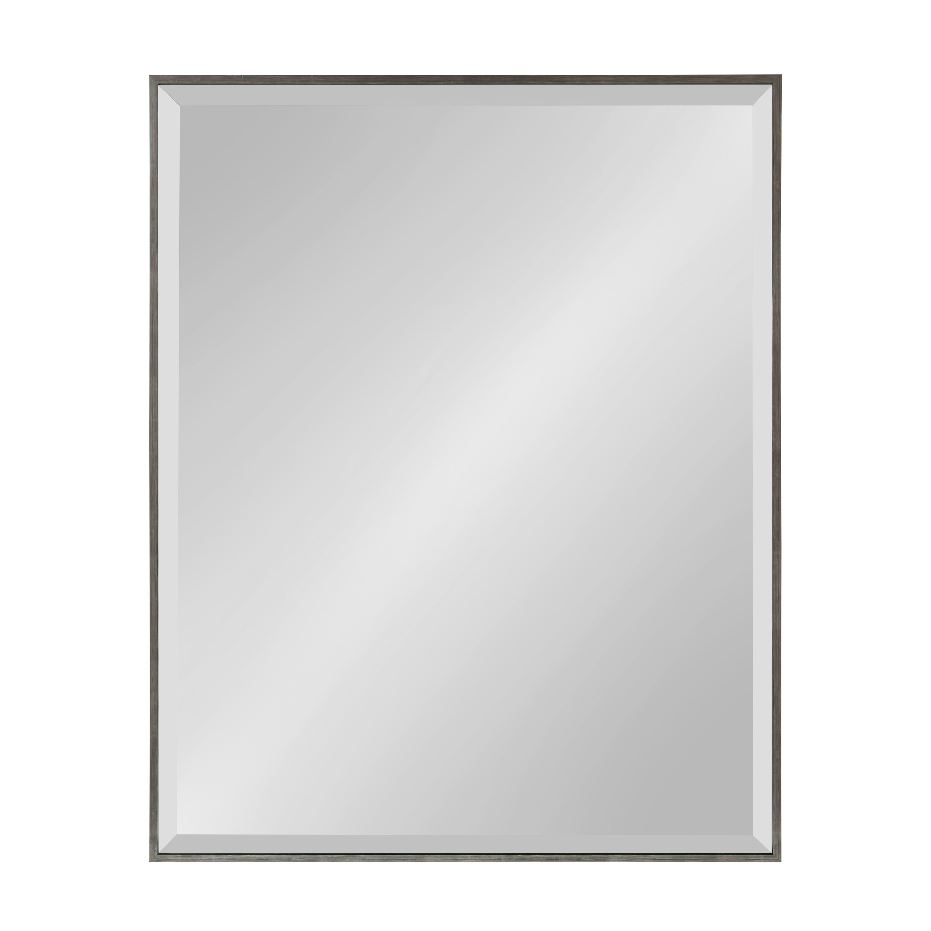"""Modern Beveled Glass Large & Oversized (Over 32"""" High) Wall Pertaining To Tutuala Traditional Beveled Accent Mirrors (View 15 of 20)"""