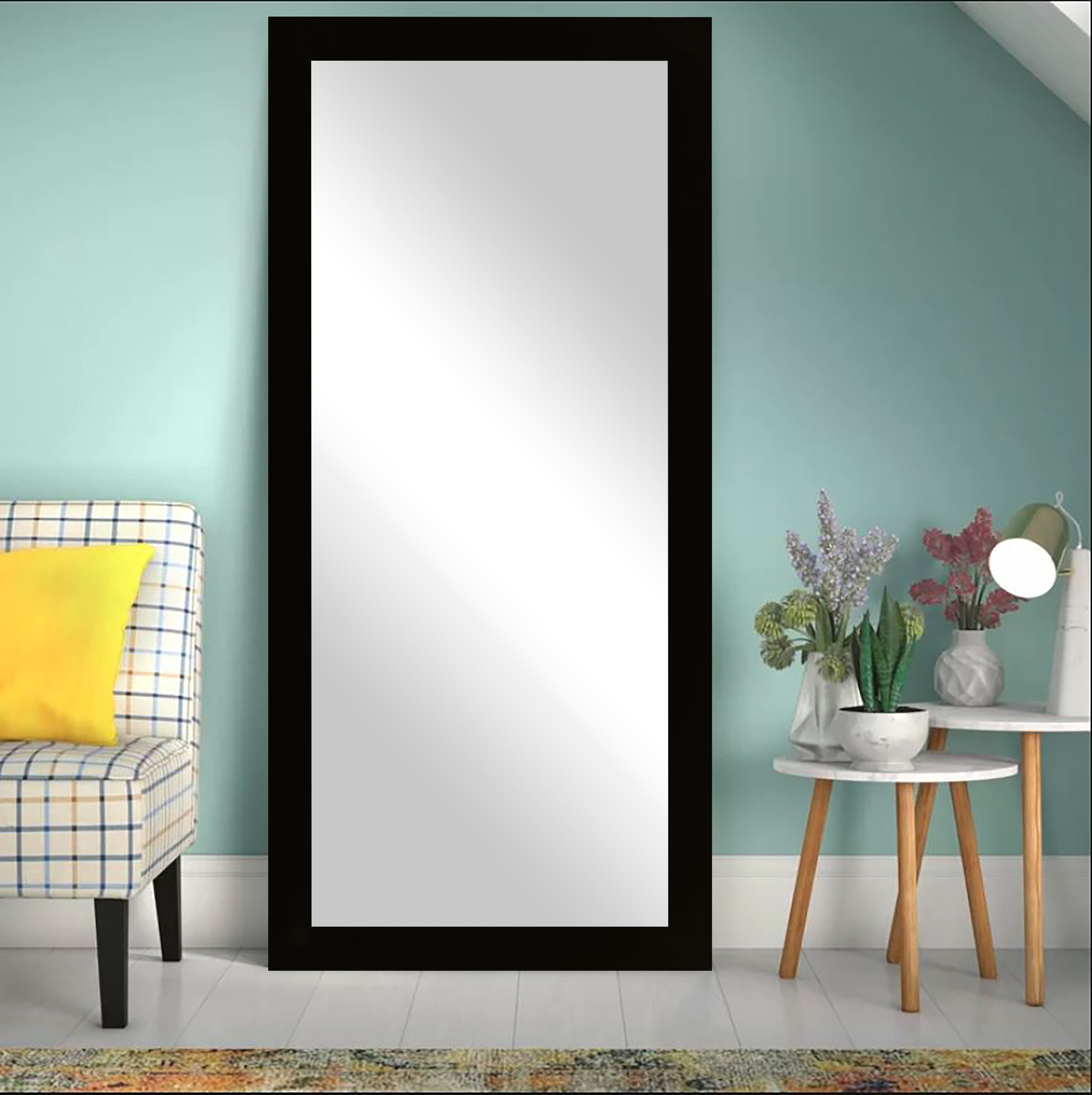 Modern & Contemporary 30 X 60 Mirror | Allmodern With Regard To Arch Top Vertical Wall Mirrors (Image 17 of 20)