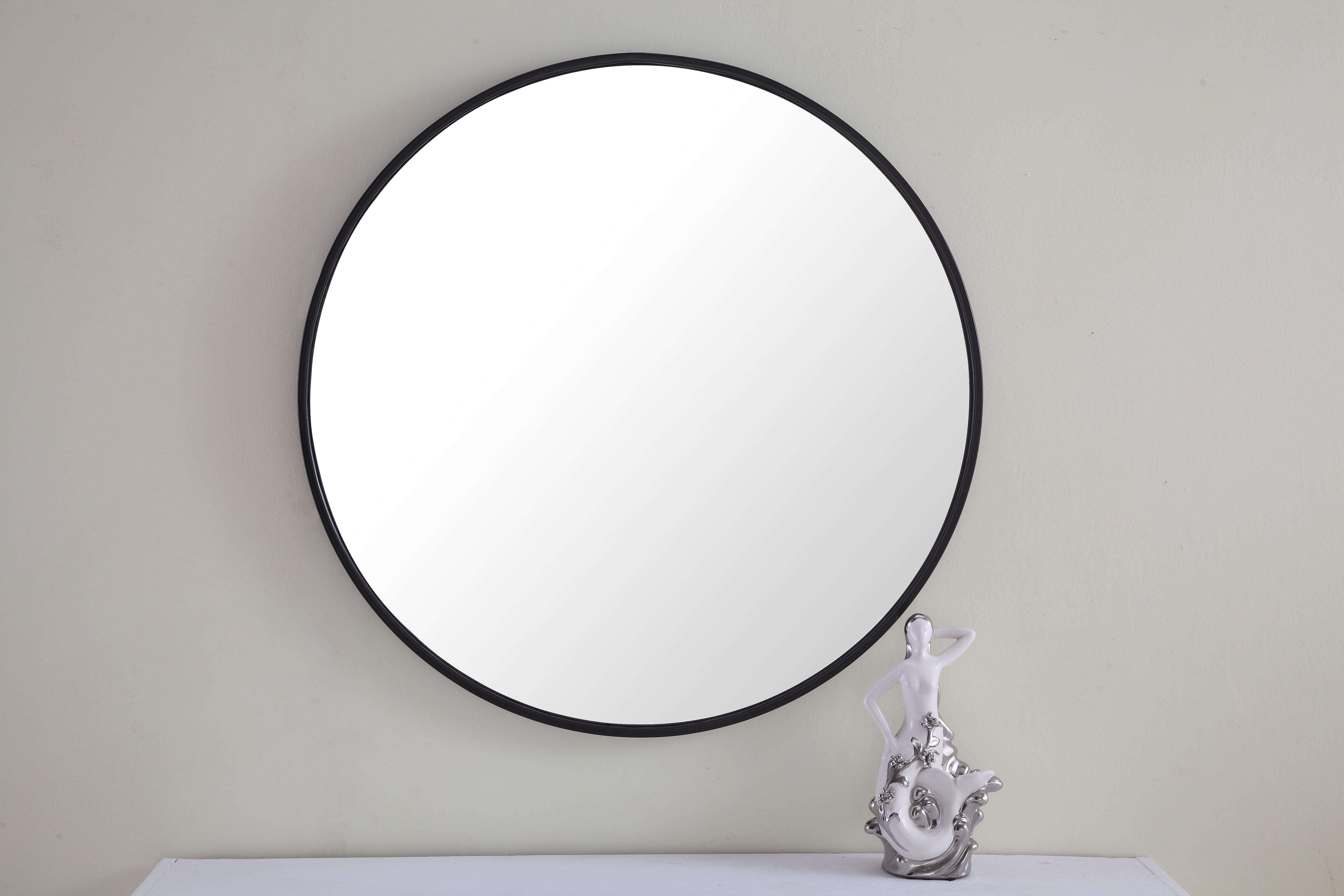 Modern & Contemporary 42 Inch Round Mirror   Allmodern Throughout Matthias Round Accent Mirrors (View 20 of 20)