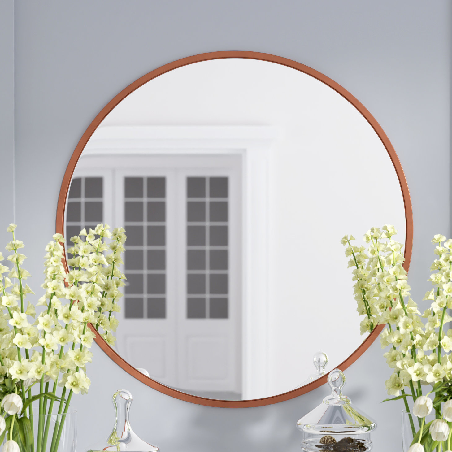 Modern & Contemporary Accent Mirror With Loftis Modern & Contemporary Accent Wall Mirrors (View 7 of 20)