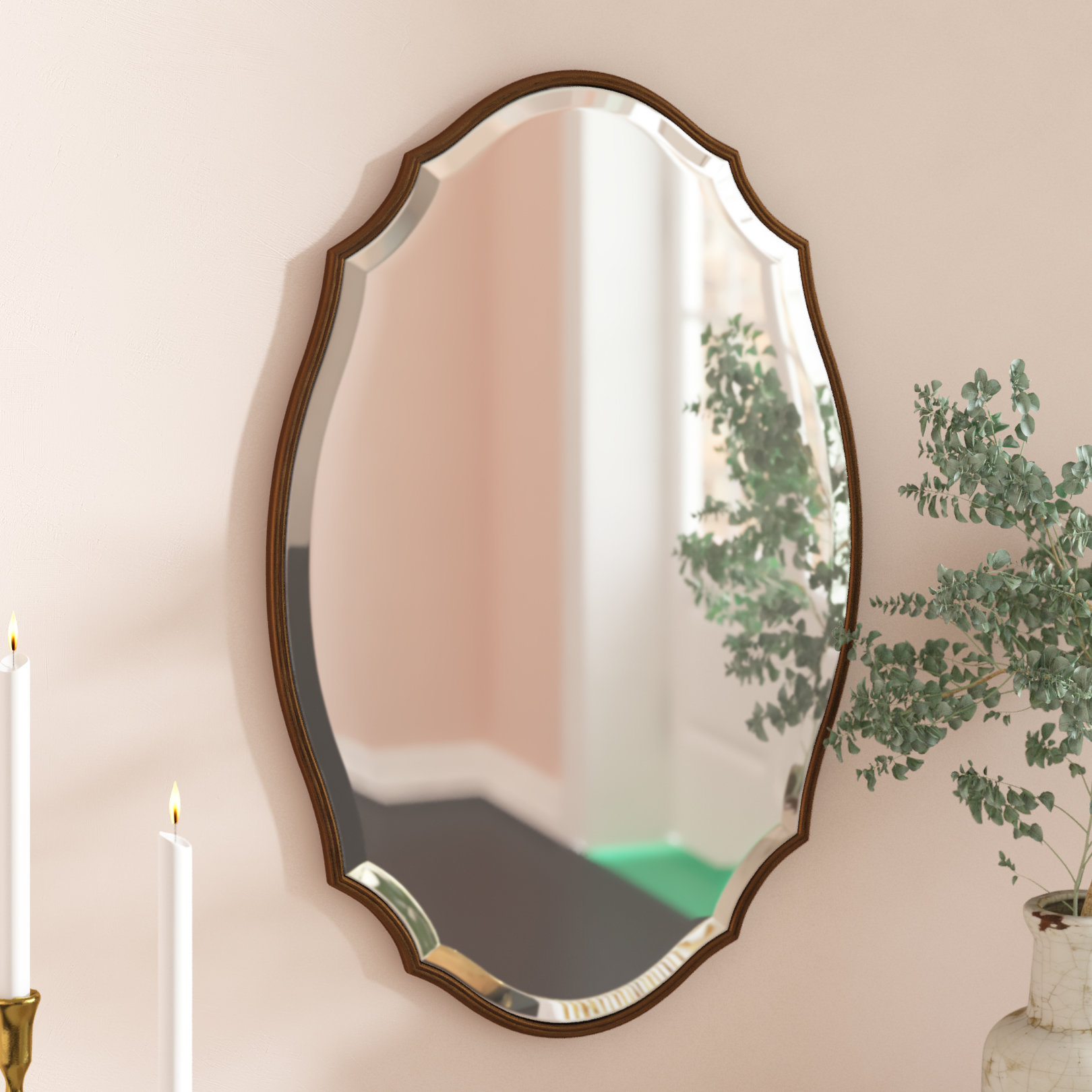 Modern & Contemporary Beveled Accent Mirror Intended For Menachem Modern & Contemporary Accent Mirrors (View 4 of 20)