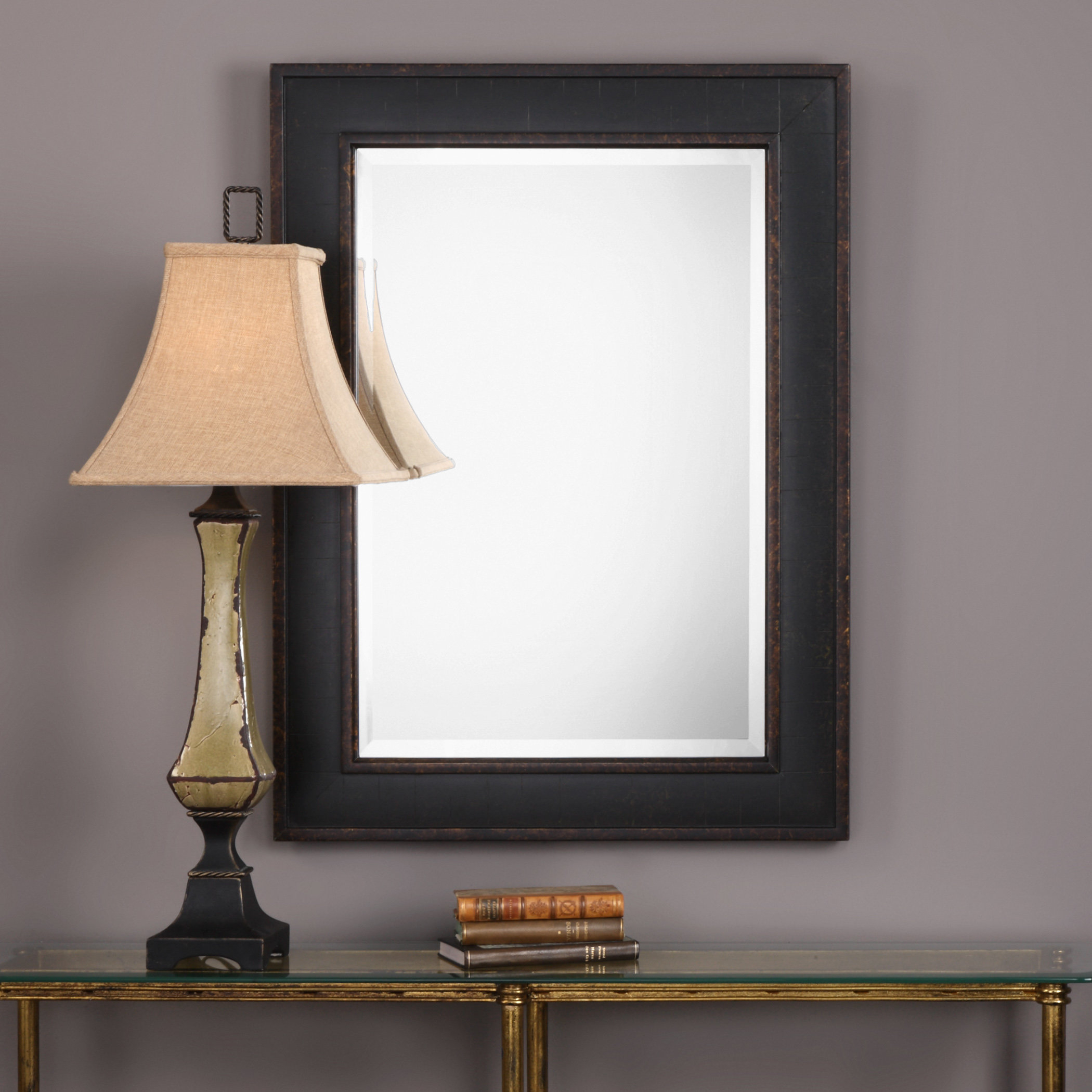 Modern & Contemporary Beveled Accent Mirror Regarding Modern & Contemporary Beveled Overmantel Mirrors (View 3 of 20)
