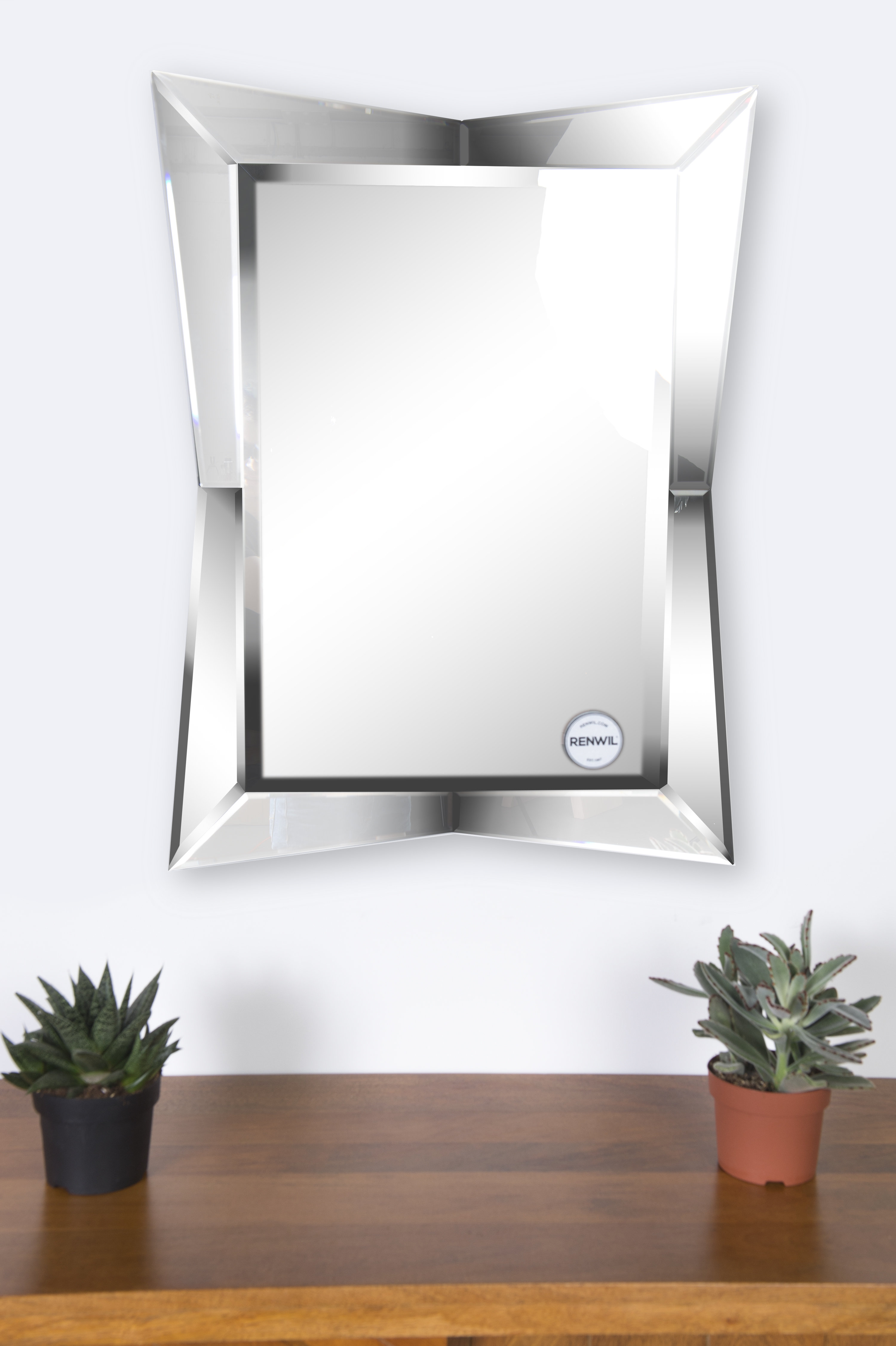Featured Image of Modern & Contemporary Beveled Wall Mirrors