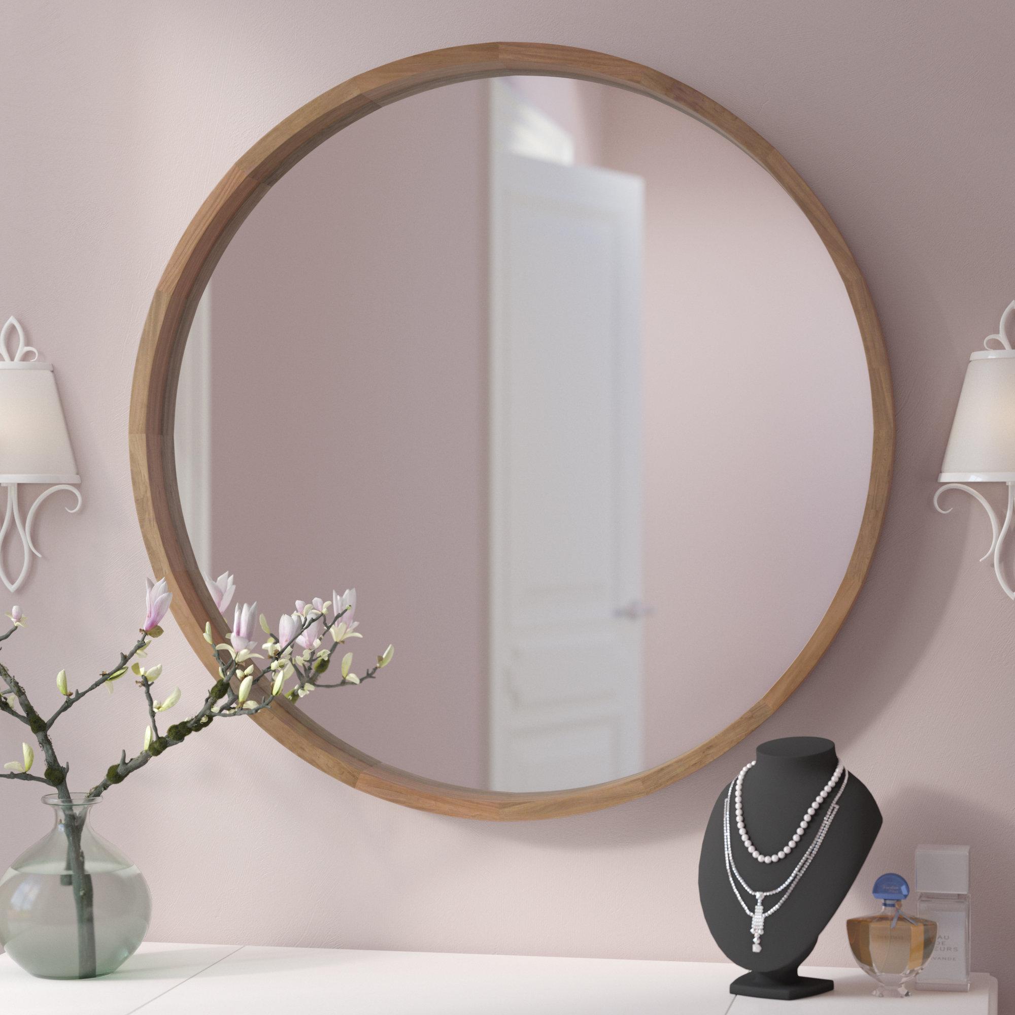 Modern & Contemporary Diamond Wall Mirror | Allmodern In Traditional Frameless Diamond Wall Mirrors (Image 13 of 20)