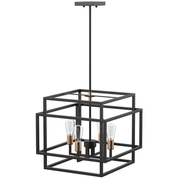 Modern & Contemporary Entry Chandelier | Allmodern In Hendry 4 Light Globe Chandeliers (Image 15 of 20)