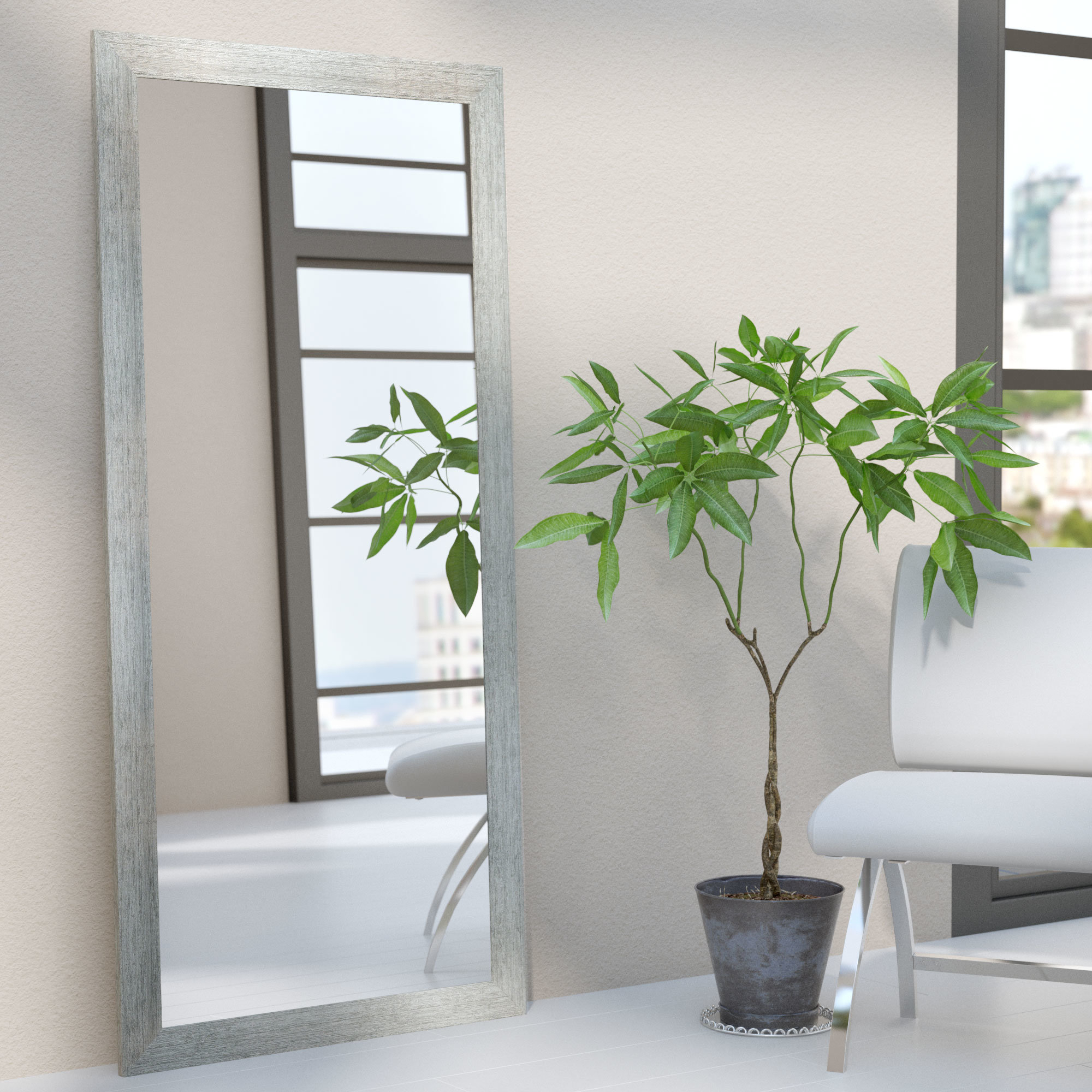 Modern & Contemporary Full Length Mirror For Jameson Modern & Contemporary Full Length Mirrors (Image 16 of 20)