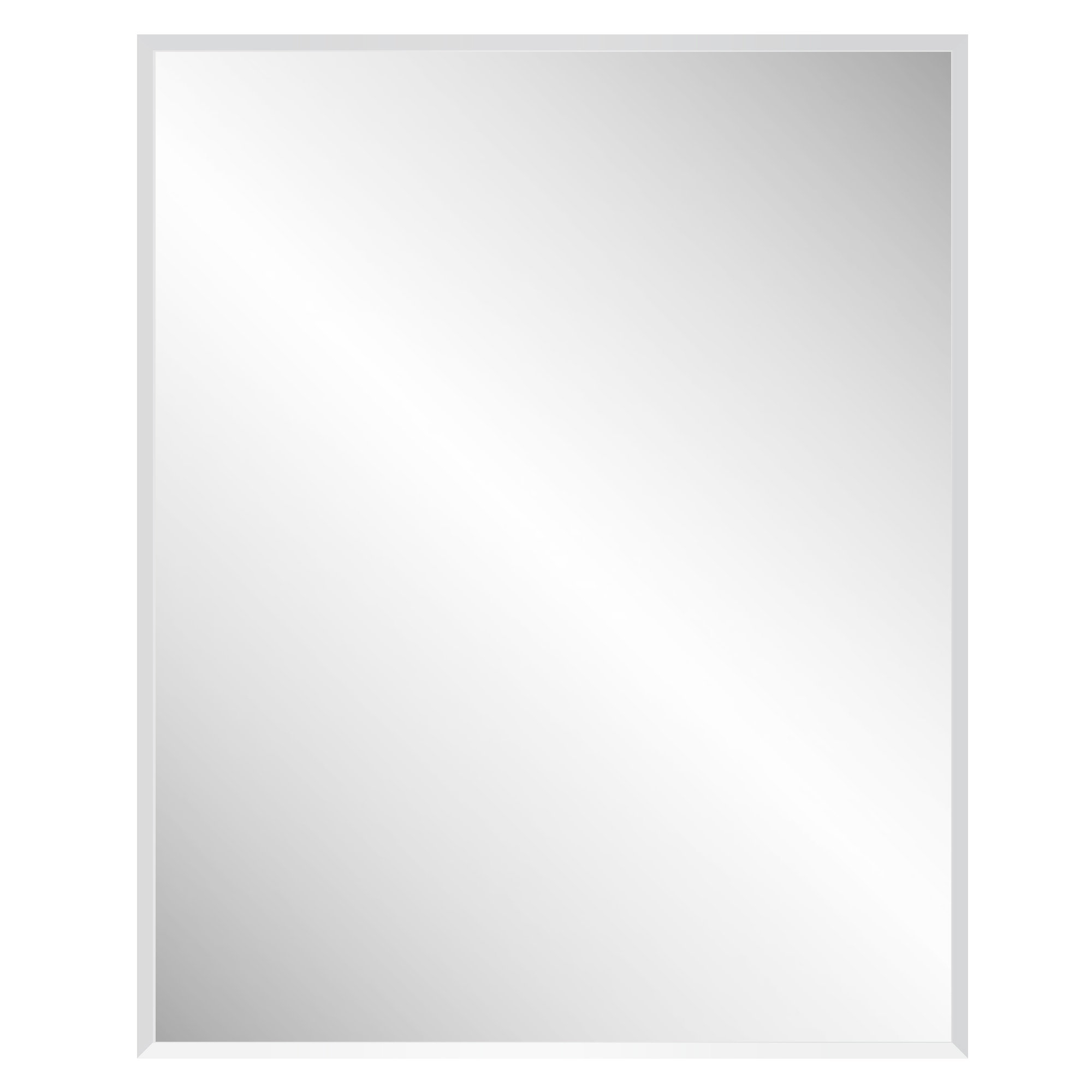 Modern & Contemporary Geometric Rectangle Mirror | Allmodern Pertaining To Pennsburg Rectangle Wall Mirrors (Image 5 of 20)