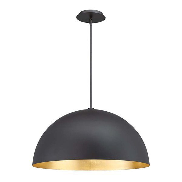 Modern & Contemporary Large Dome Light   Allmodern In Granville 2 Light Single Dome Pendants (View 20 of 25)