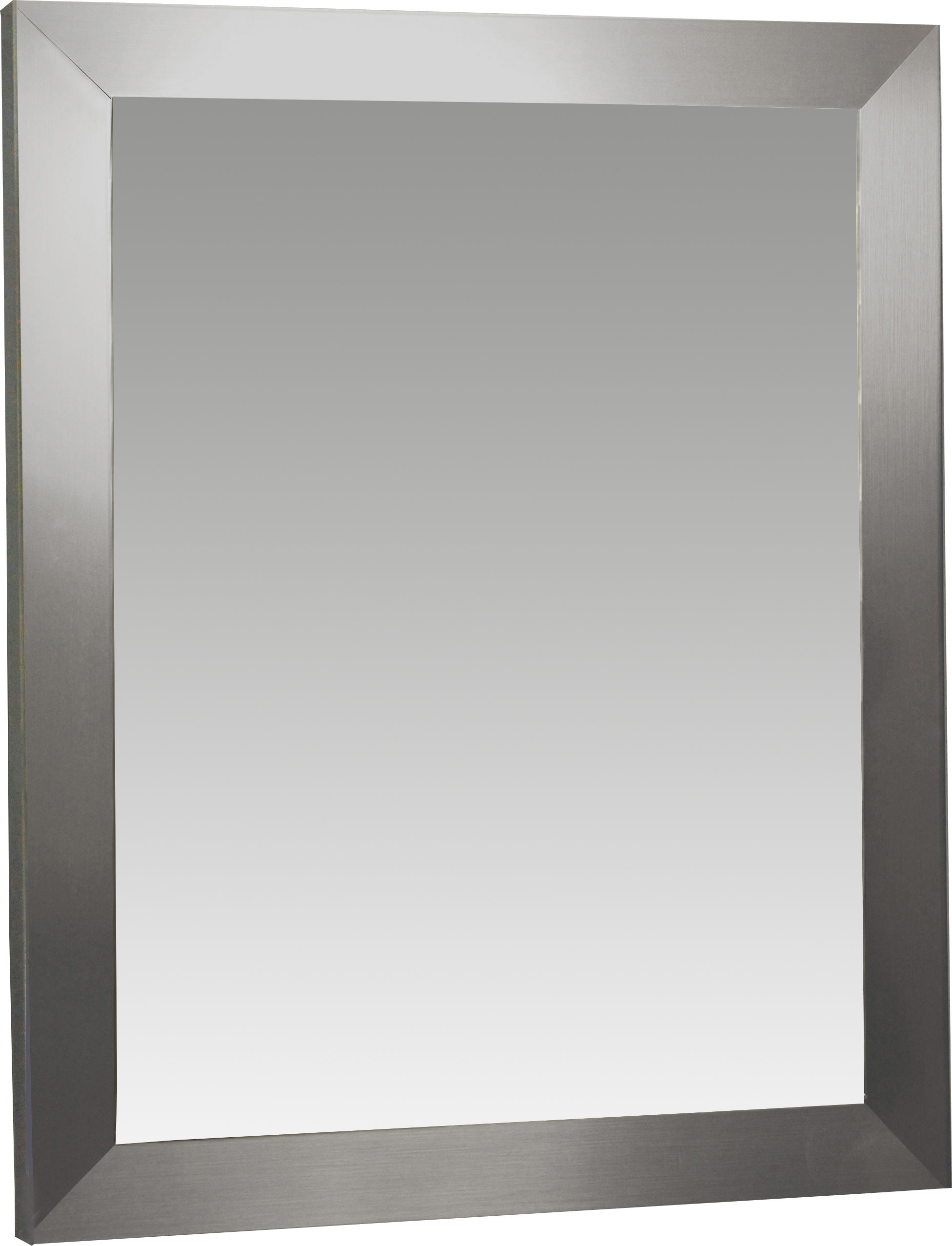 Modern & Contemporary Mirror 30 X 40 | Allmodern For Caja Rectangle Glass Frame Wall Mirrors (View 10 of 20)