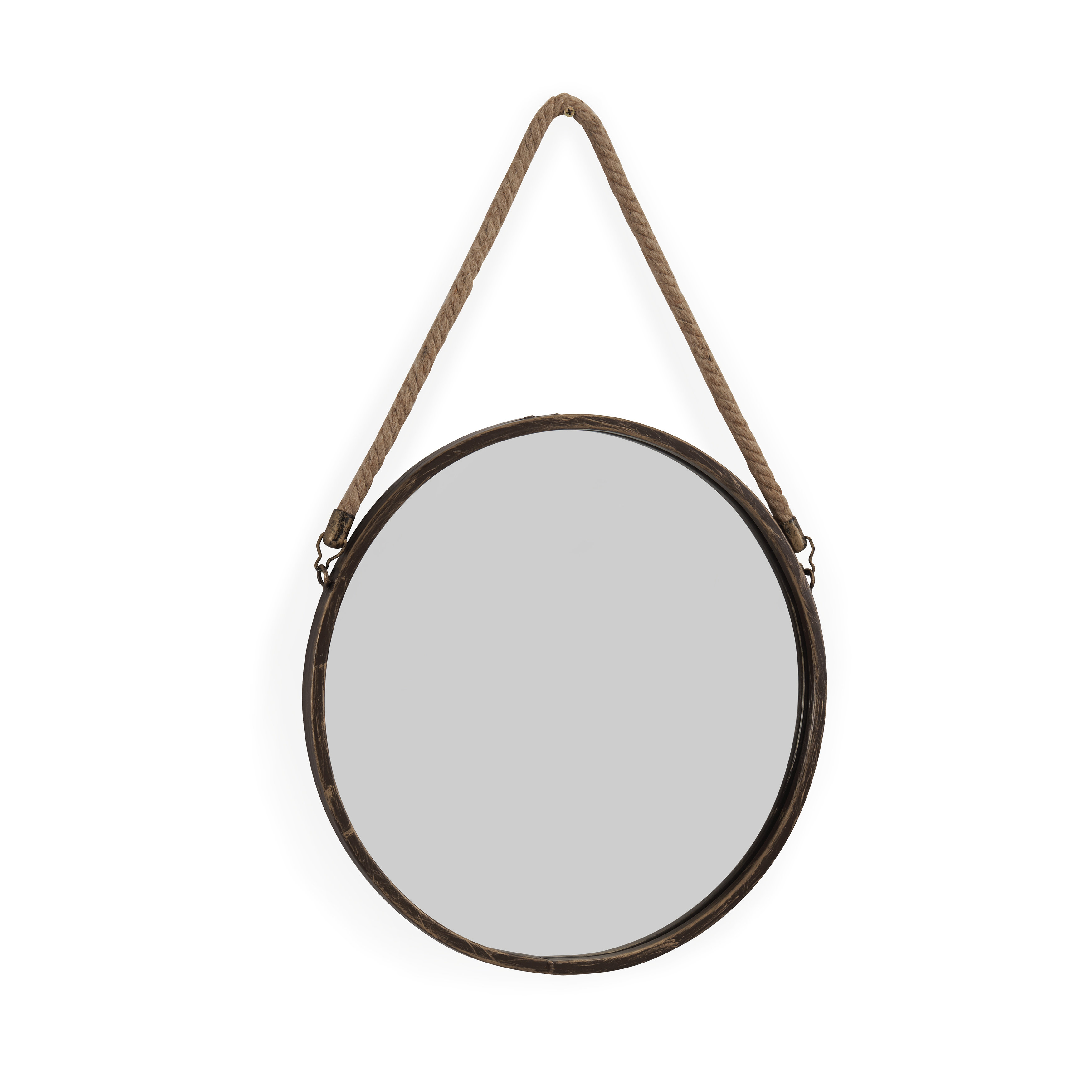 Modern & Contemporary Rope Mirror | Allmodern With Regard To Knott Modern & Contemporary Accent Mirrors (Image 17 of 20)