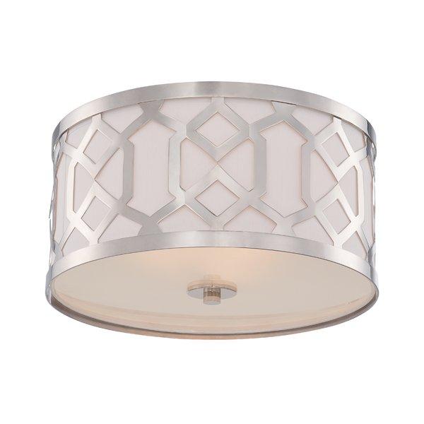 Modern & Contemporary White Steel Ceiling Light   Allmodern For Kimsey 1 Light Teardrop Pendants (View 6 of 25)