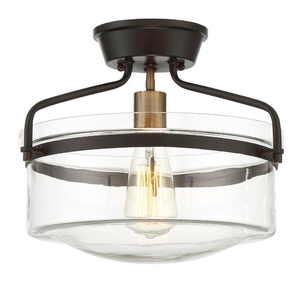 Modern Flush Mount Lighting   Allmodern Throughout Wadlington 6 Light Single Cylinder Pendants (Image 8 of 25)