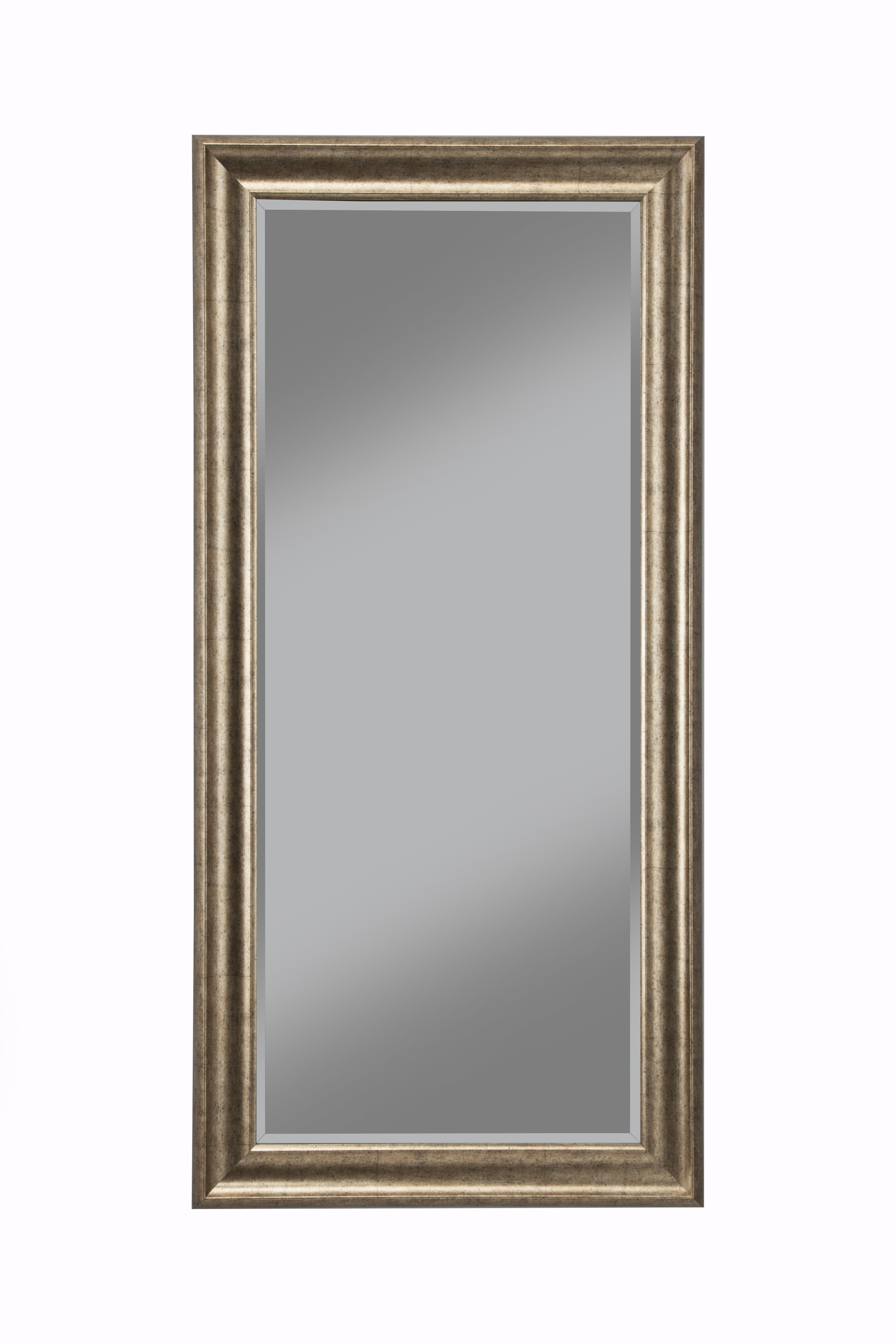 Modern Gold Wall Mirrors | Allmodern For Lugo Rectangle Accent Mirrors (Image 15 of 20)