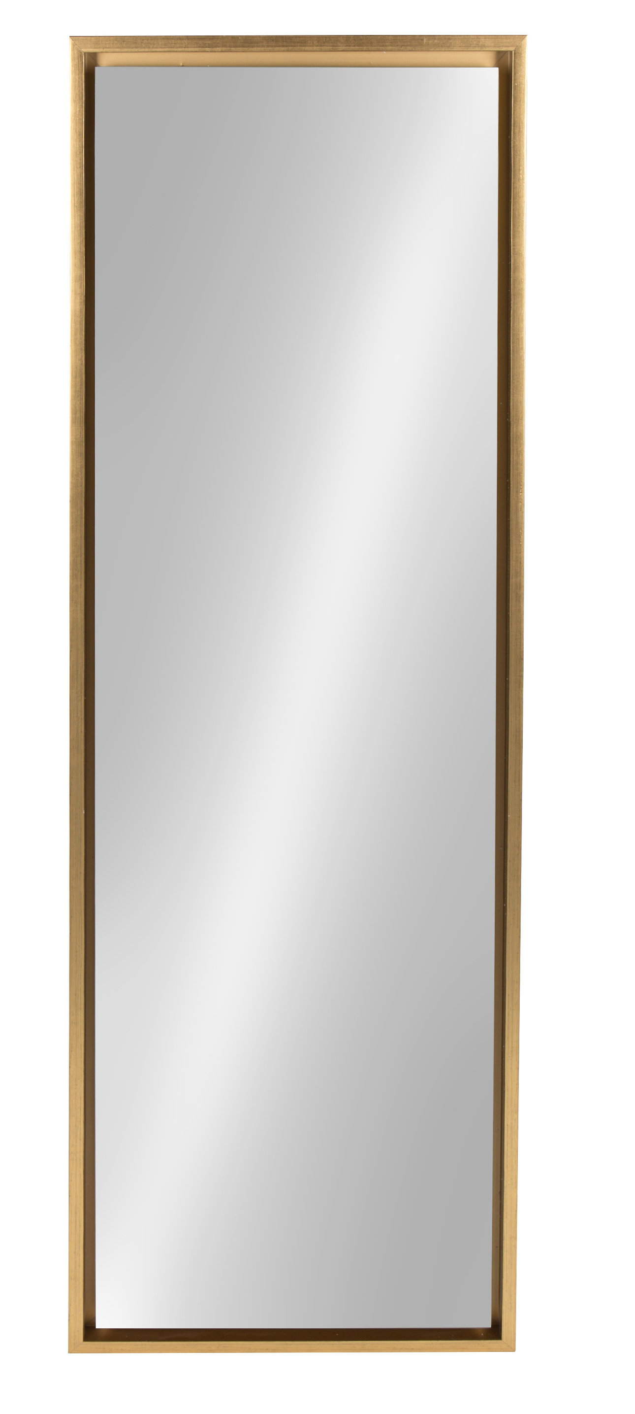 Modern Gold Wall Mirrors | Allmodern In Ansgar Accent Mirrors (View 8 of 20)