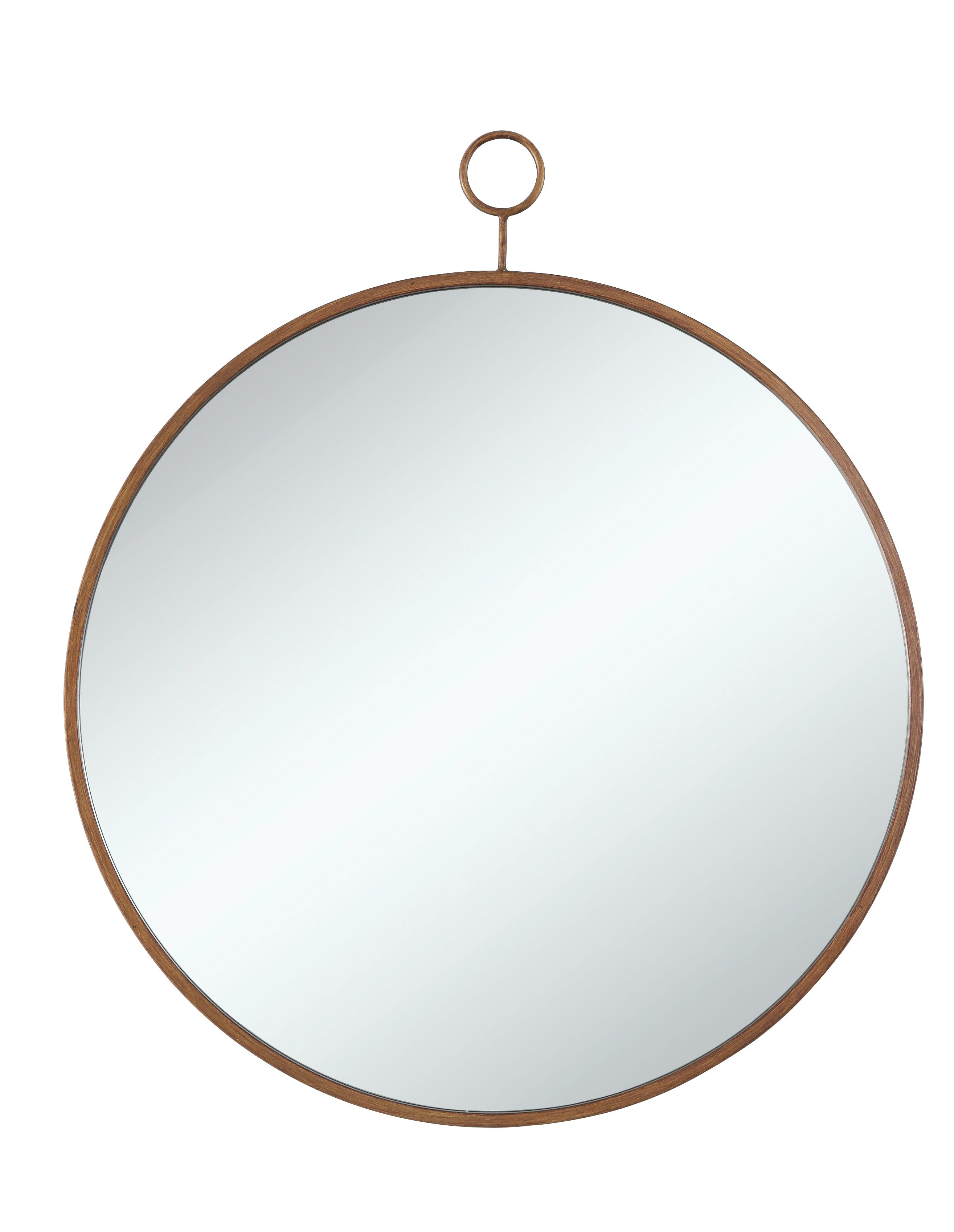 Modern Gold Wall Mirrors | Allmodern Regarding Tanner Accent Mirrors (View 13 of 20)