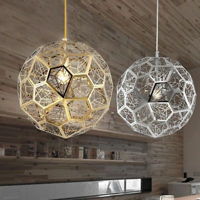 Modern Hanging Geometric Hollowed Out Globe 1 Light Pendant Inside 1 Light Geometric Globe Pendants (Image 20 of 25)