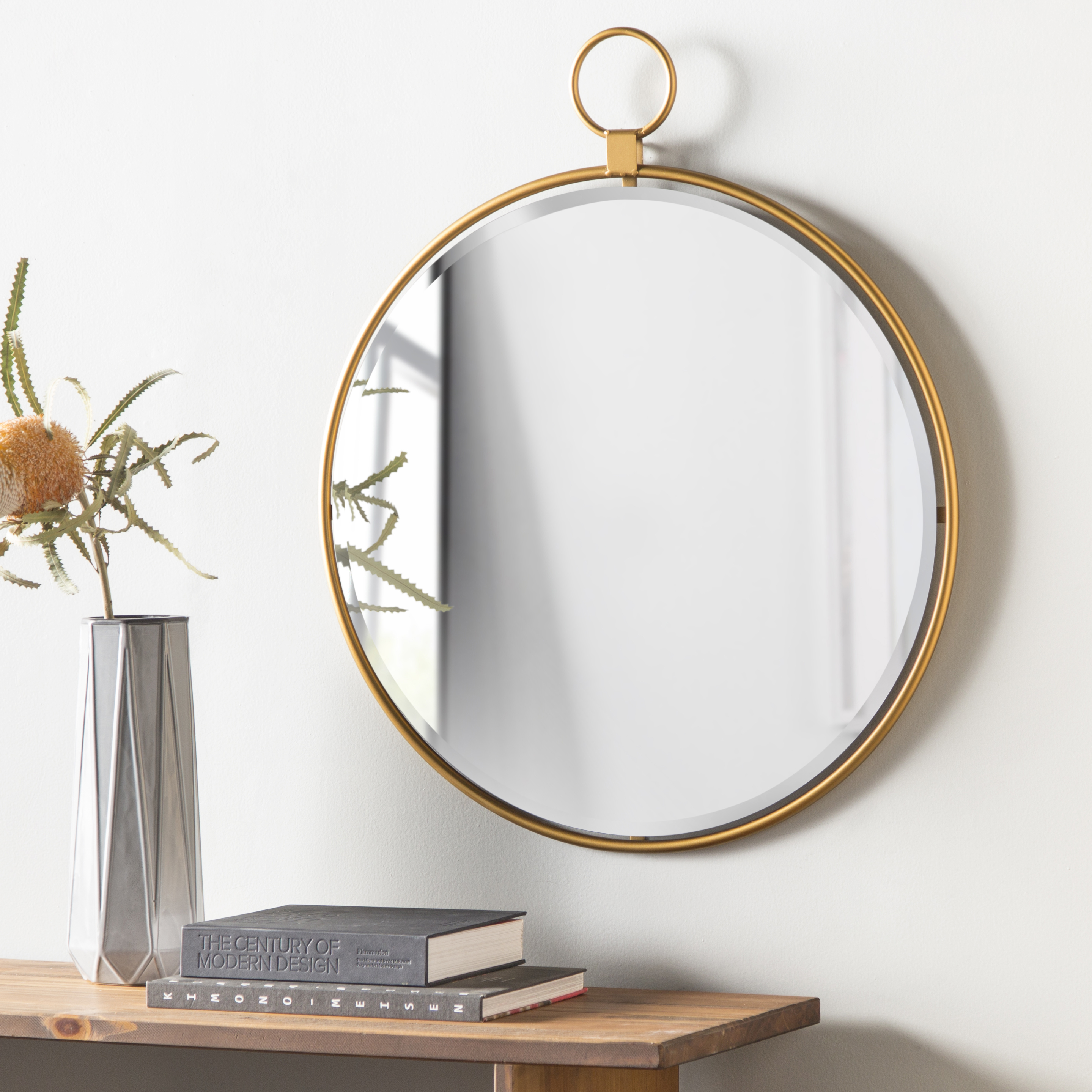 Modern Mirrors | Allmodern Inside Dandre Wall Mirrors (Image 13 of 20)