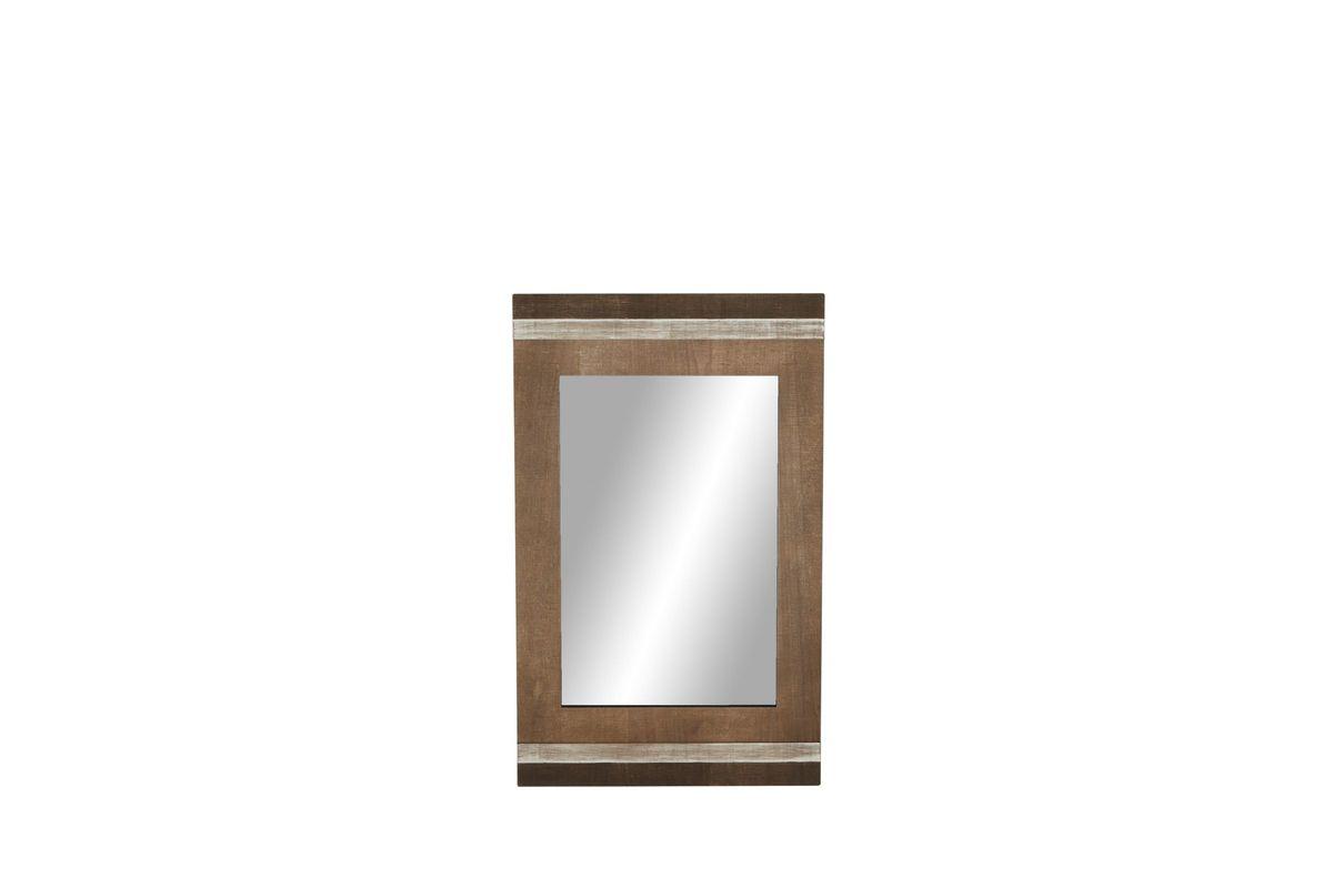 Modern Rectangular Wooden Wall Mirror Intended For Modern Rectangle Wall Mirrors (View 12 of 20)