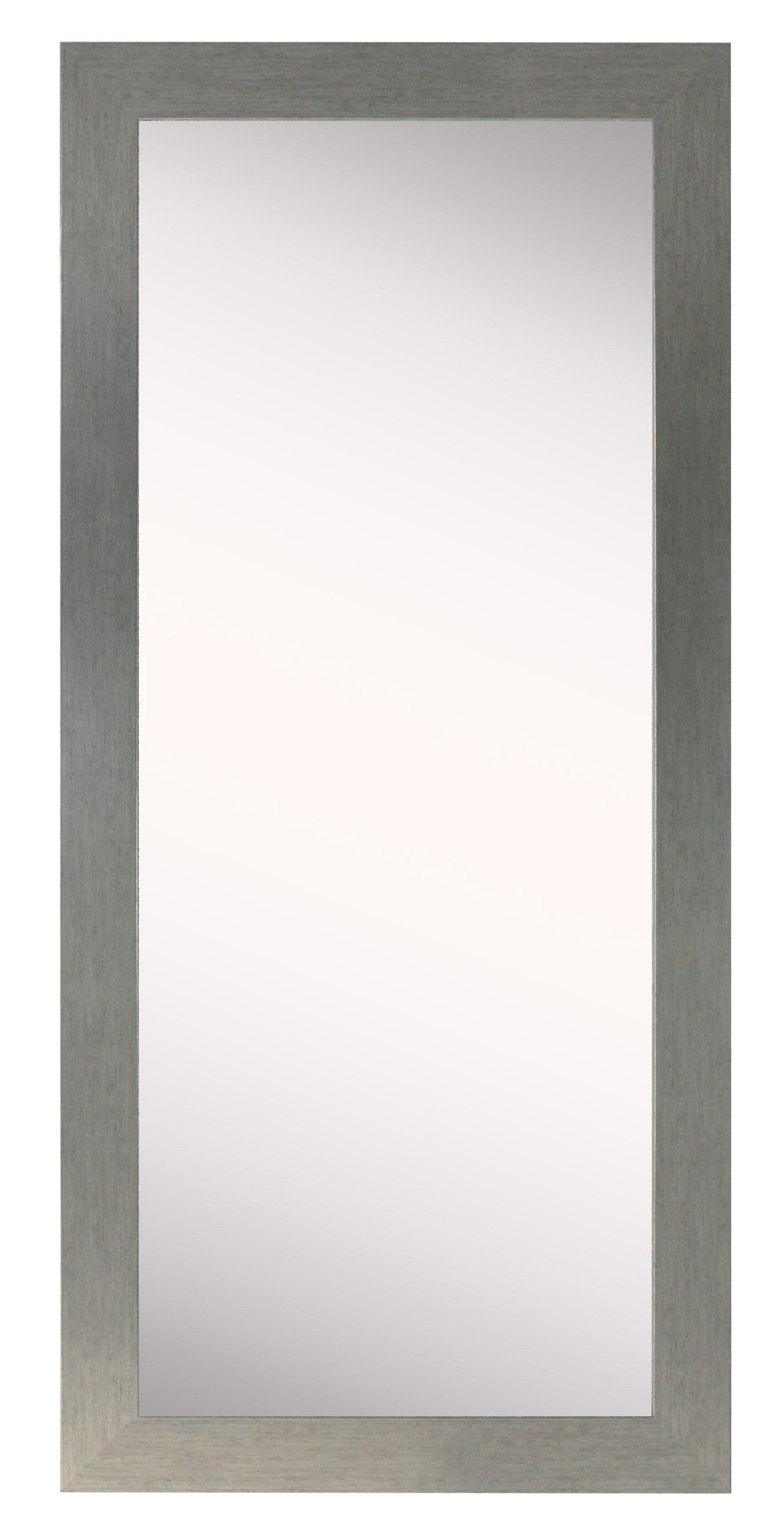 Modern Silver Bathroom Mirrors   Allmodern Inside Sartain Modern & Contemporary Wall Mirrors (View 5 of 20)