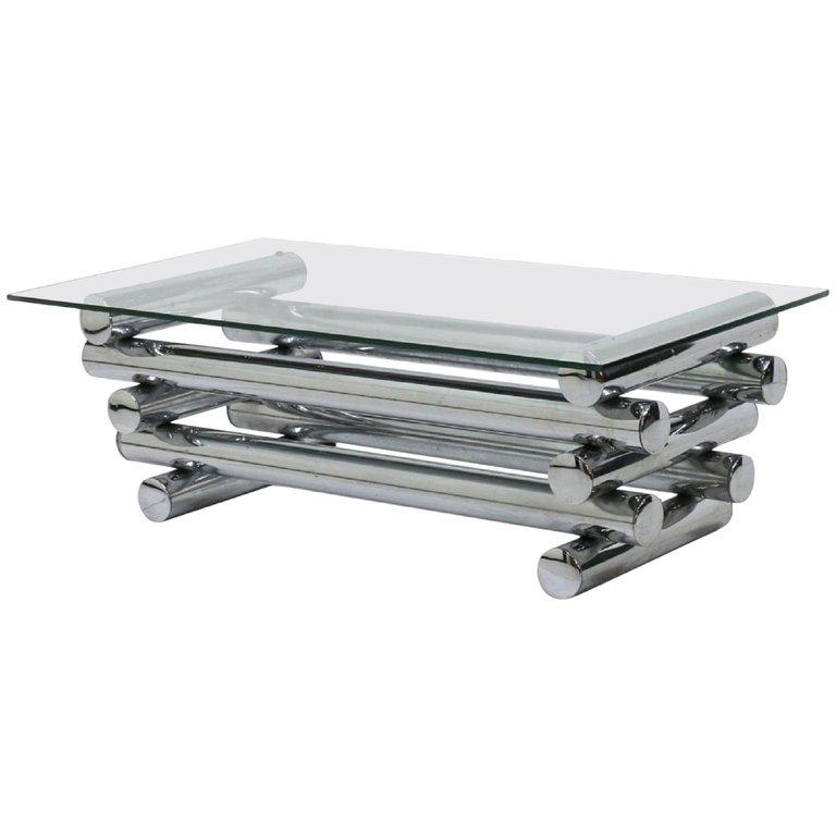Modrest Tide Modern Glass Coffee Table Dreamlivingscom Pertaining To Finbar Modern Rectangle Glass Coffee Tables (View 13 of 25)
