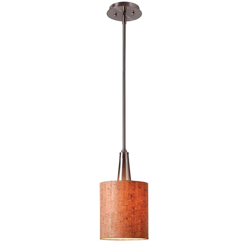 Montes 1 Light Single Drum Pendant With Regard To Montes 3 Light Drum Chandeliers (View 8 of 20)
