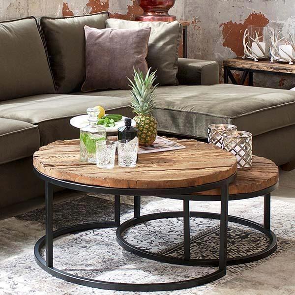 Muebles De Lujo Tamaño Y Tendencias Del Mercado Within Silver Orchid Henderson Faux Stone Round End Tables (View 21 of 25)