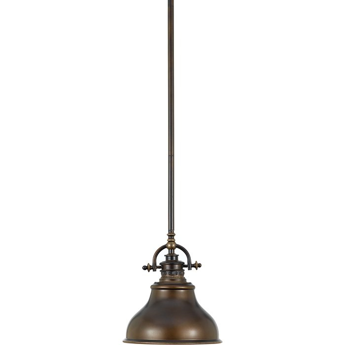 Mueller 1 Light Single Dome Pendant For Mueller 1 Light Single Dome Pendants (View 1 of 25)