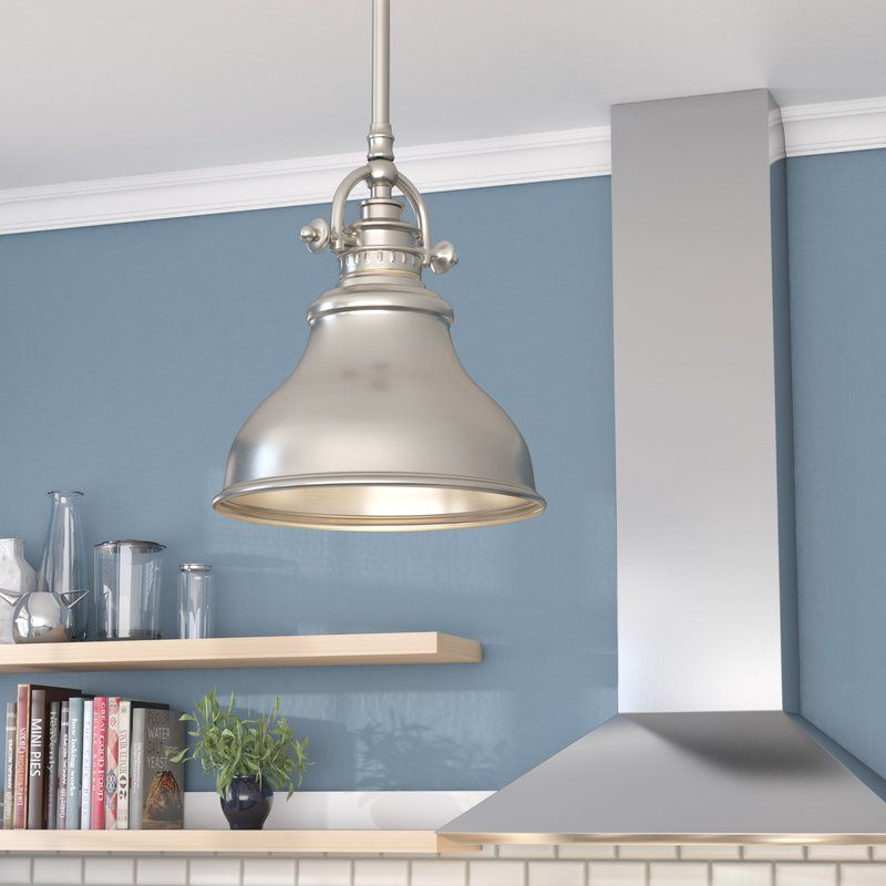 Mueller 1 Light Single Dome Pendant | Naglie Remodel With Mueller 1 Light Single Dome Pendants (View 3 of 25)