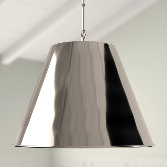 Nadeau 1 Light Single Cone Pendant Pertaining To Nadeau 1 Light Single Cone Pendants (View 11 of 25)