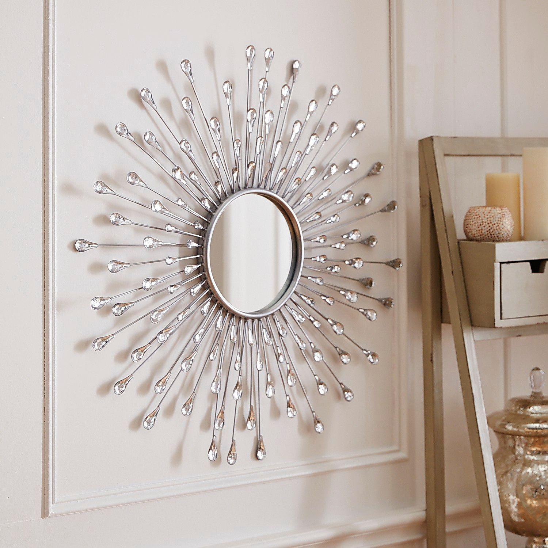 Natalie Sunburst Round Mirror | Patricia's World | Sunburst Regarding Bruckdale Decorative Flower Accent Mirrors (View 8 of 20)
