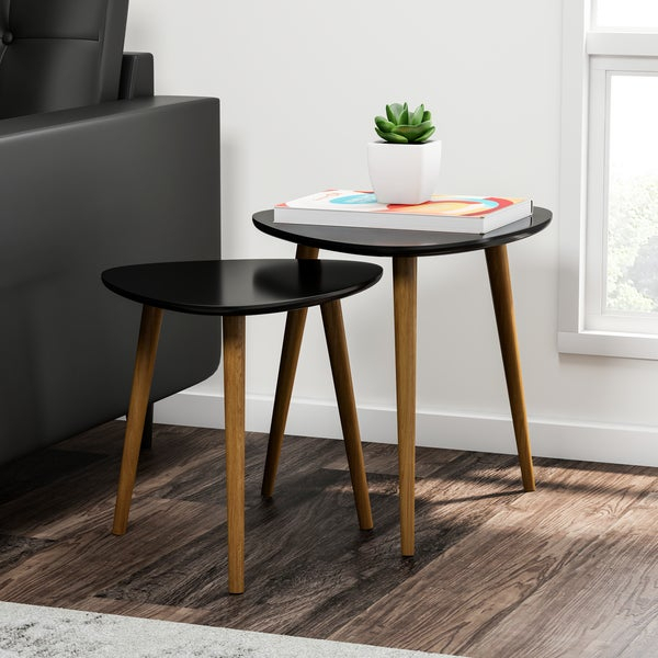 Natura Hairpin Table Nesting Set Perfectly Designed Furniture Intended For Carson Carrington Arendal Guitar Pick Nesting Coffee Tables (View 16 of 25)