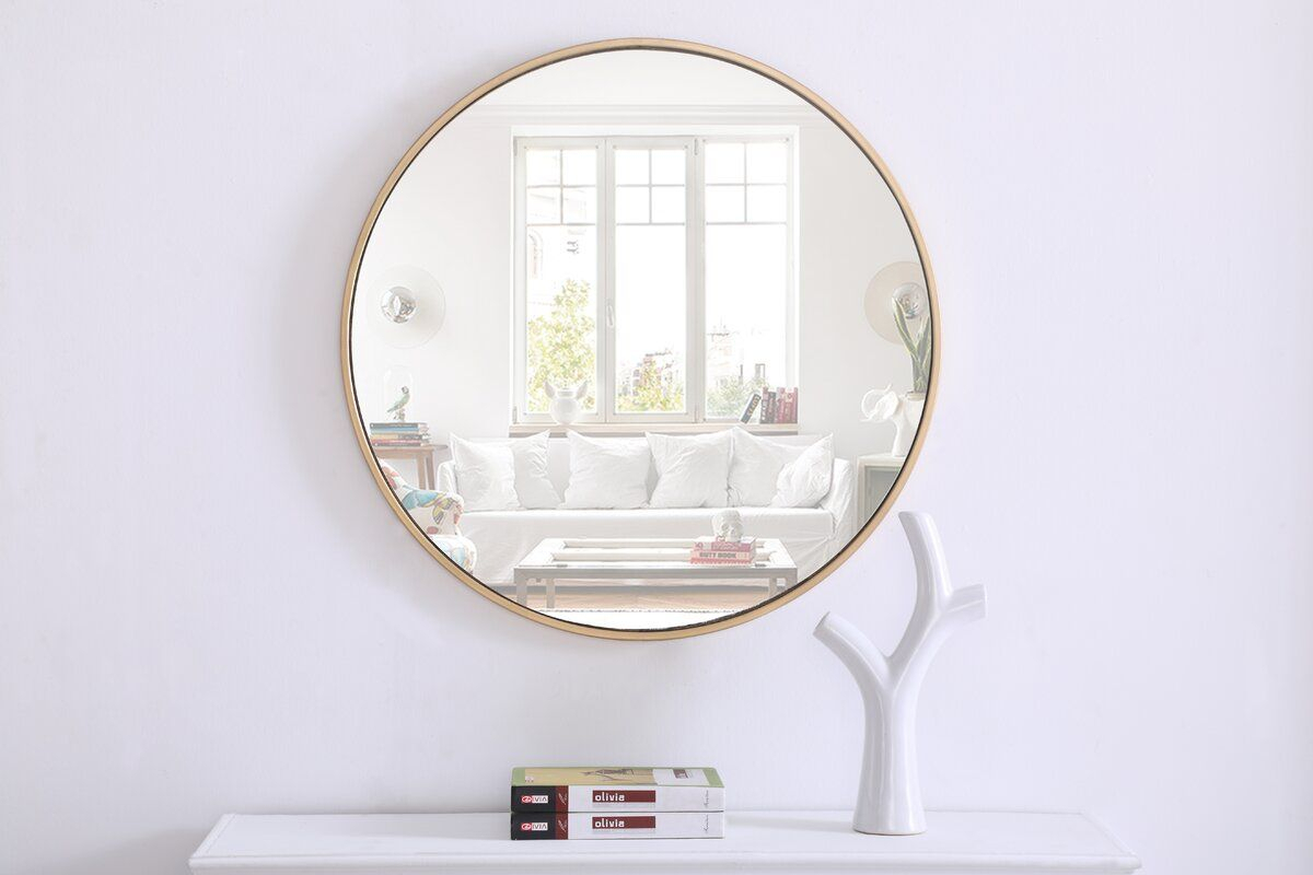 Needville Modern & Contemporary Accent Mirror In 2019 | Home Throughout Rhein Accent Mirrors (View 9 of 20)
