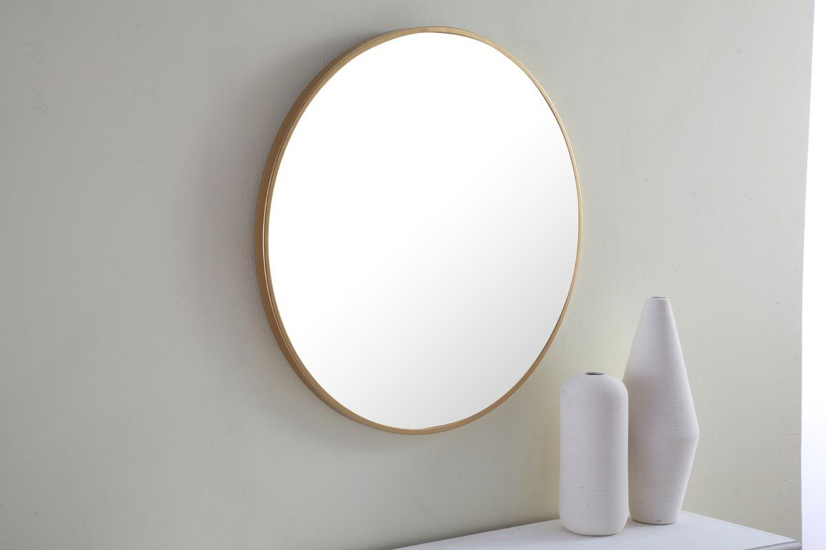 Needville Modern & Contemporary Accent Mirror | Prince St Within Needville Modern & Contemporary Accent Mirrors (Image 13 of 20)