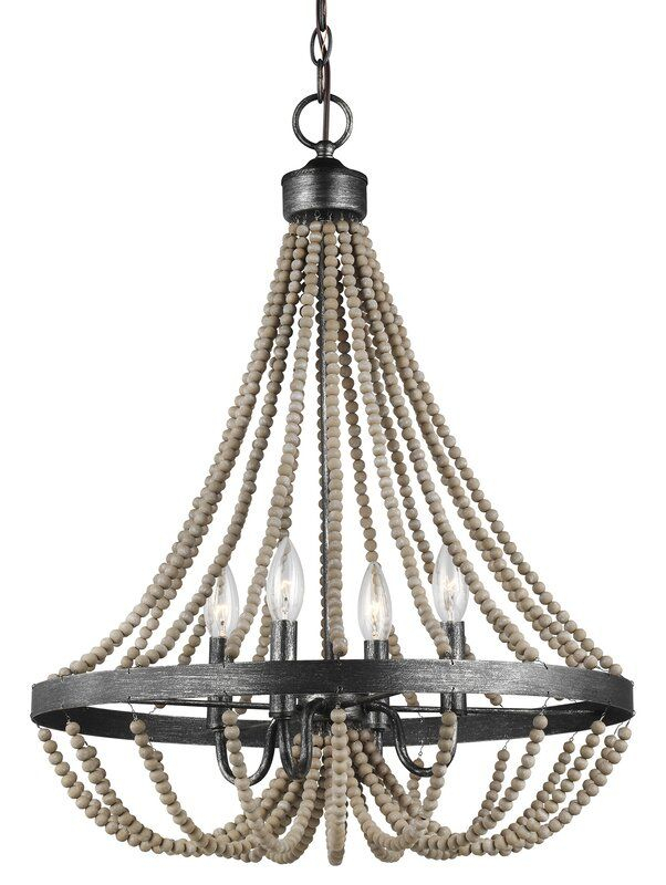 New Braunfels 4 Light Empire Chandelier | Accm – Charleston Within Ladonna 5 Light Novelty Chandeliers (View 13 of 20)