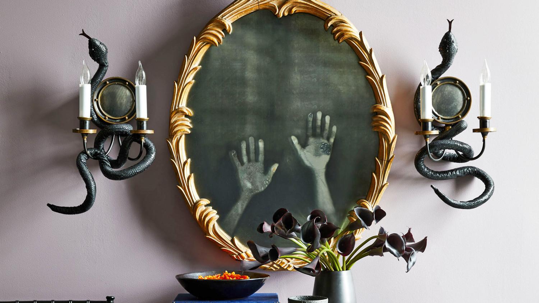 New Deal Alert! Sajish Oval Crystal Wall Mirror Willa Arlo Pertaining To Sajish Oval Crystal Wall Mirrors (View 18 of 20)