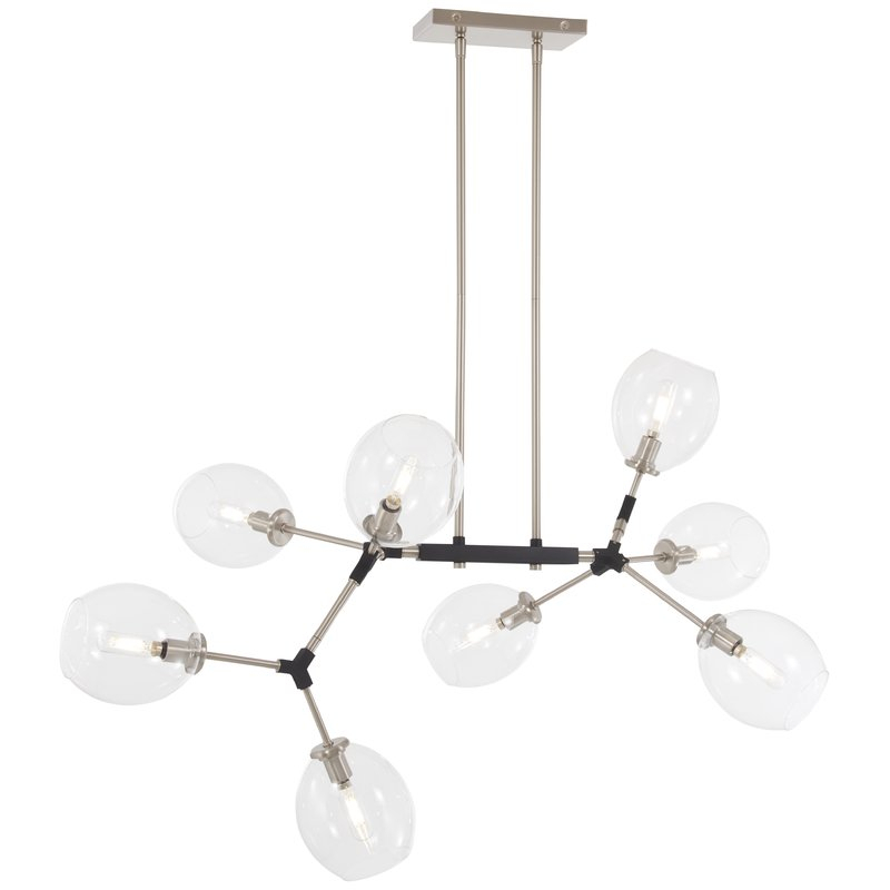 Nexpo 8 Light Sputnik Chandelier With Regard To Vroman 12 Light Sputnik Chandeliers (Image 14 of 20)
