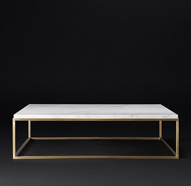 Nicholas Marble Square Coffee Table – Pinphotos Inside The Curated Nomad Quatrefoil Goldtone Metal And Glass Coffee Tables (View 36 of 50)