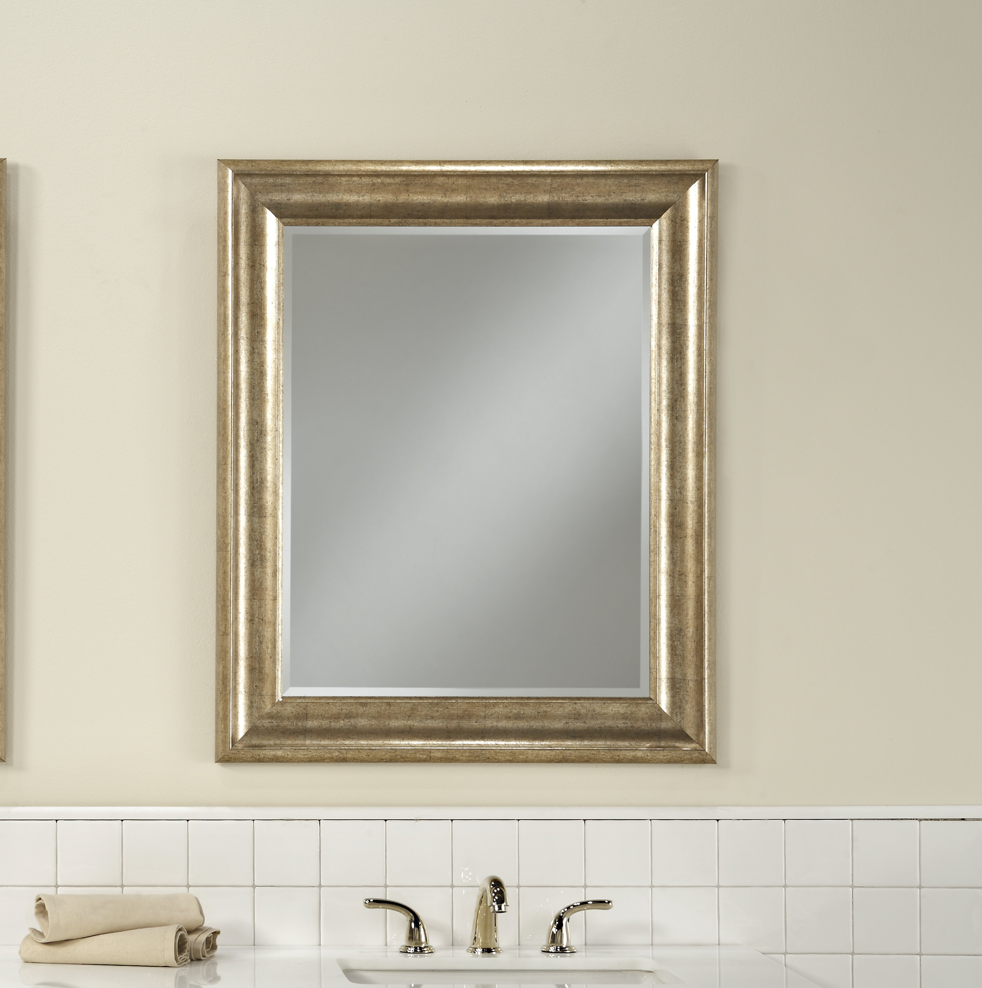 Northcutt Accent Mirror Throughout Longwood Rustic Beveled Accent Mirrors (Image 10 of 20)